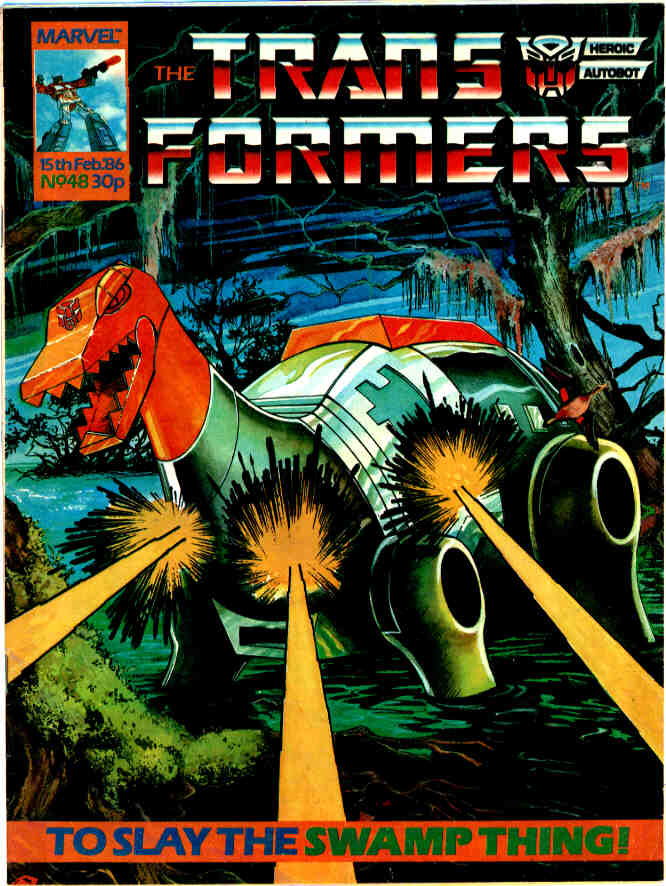 The Transformers (UK) 48 Page 1
