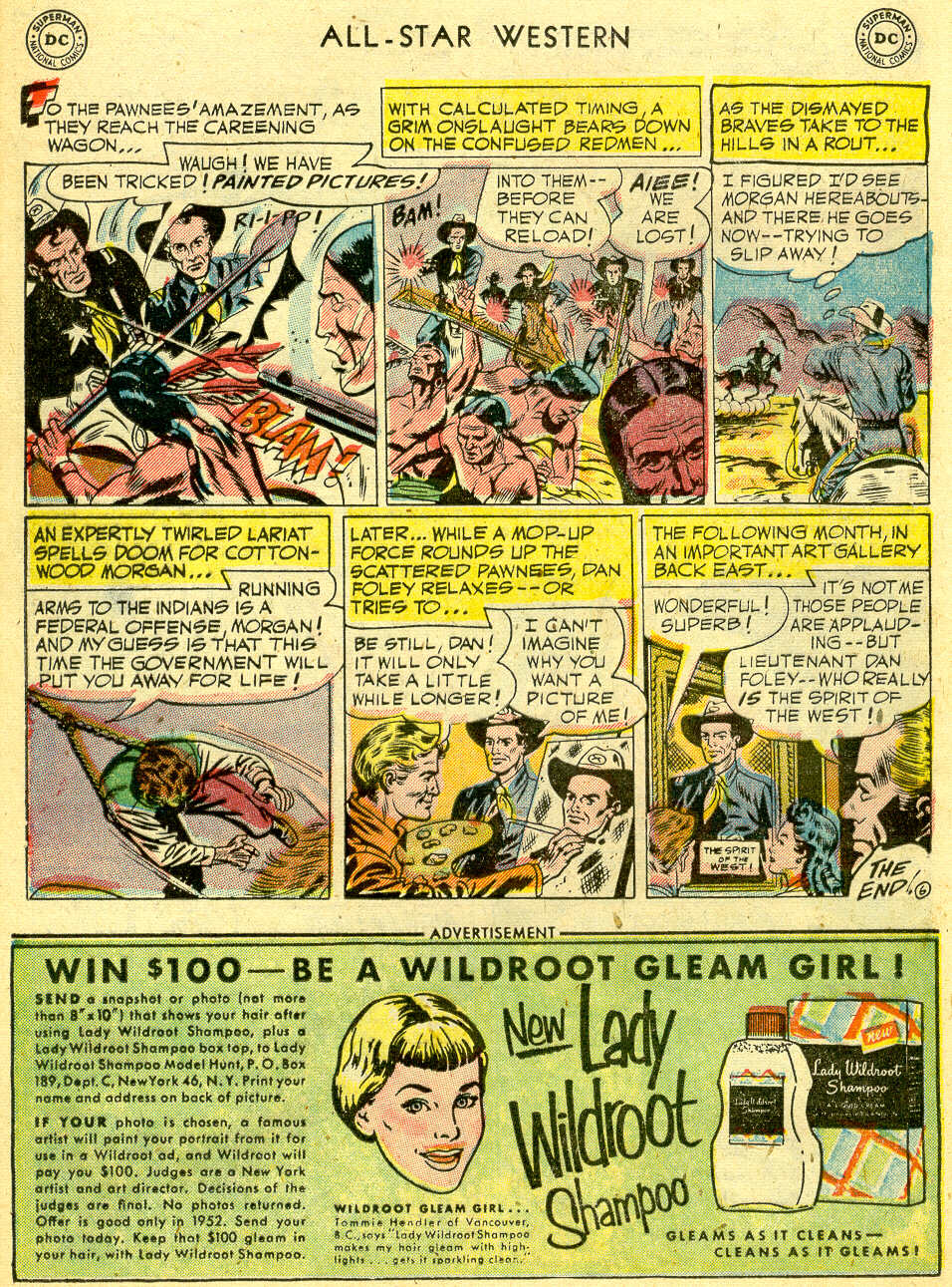 Read online All-Star Western (1951) comic -  Issue #68 - 24