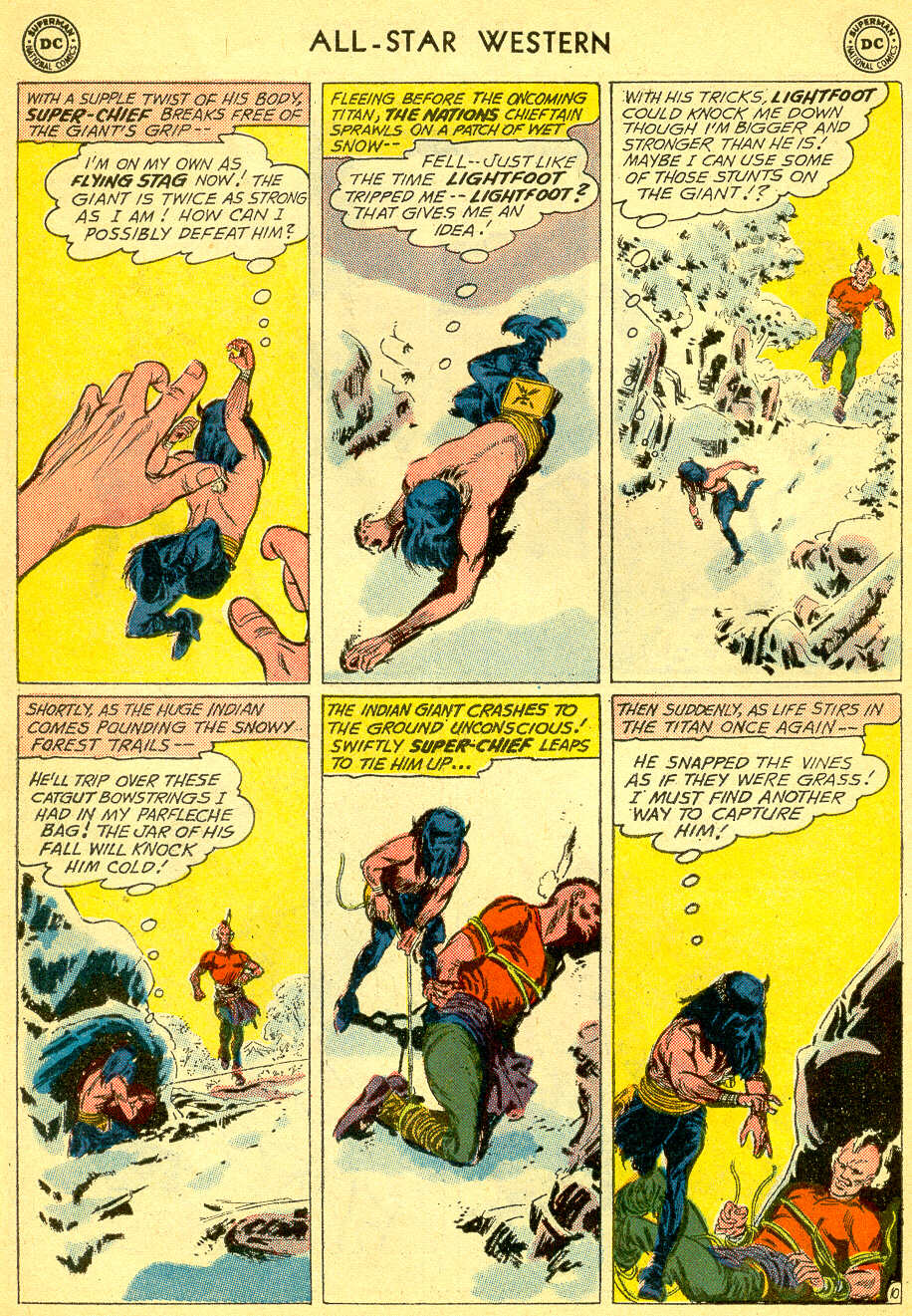 Read online All-Star Western (1951) comic -  Issue #118 - 30