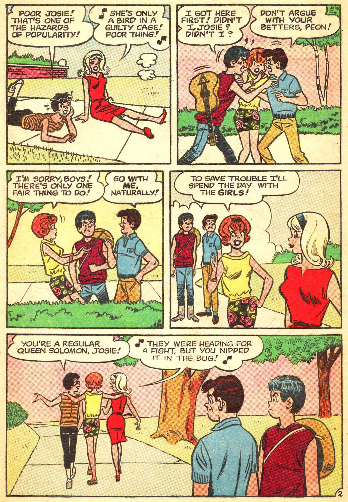 Read online She's Josie comic -  Issue #8 - 4
