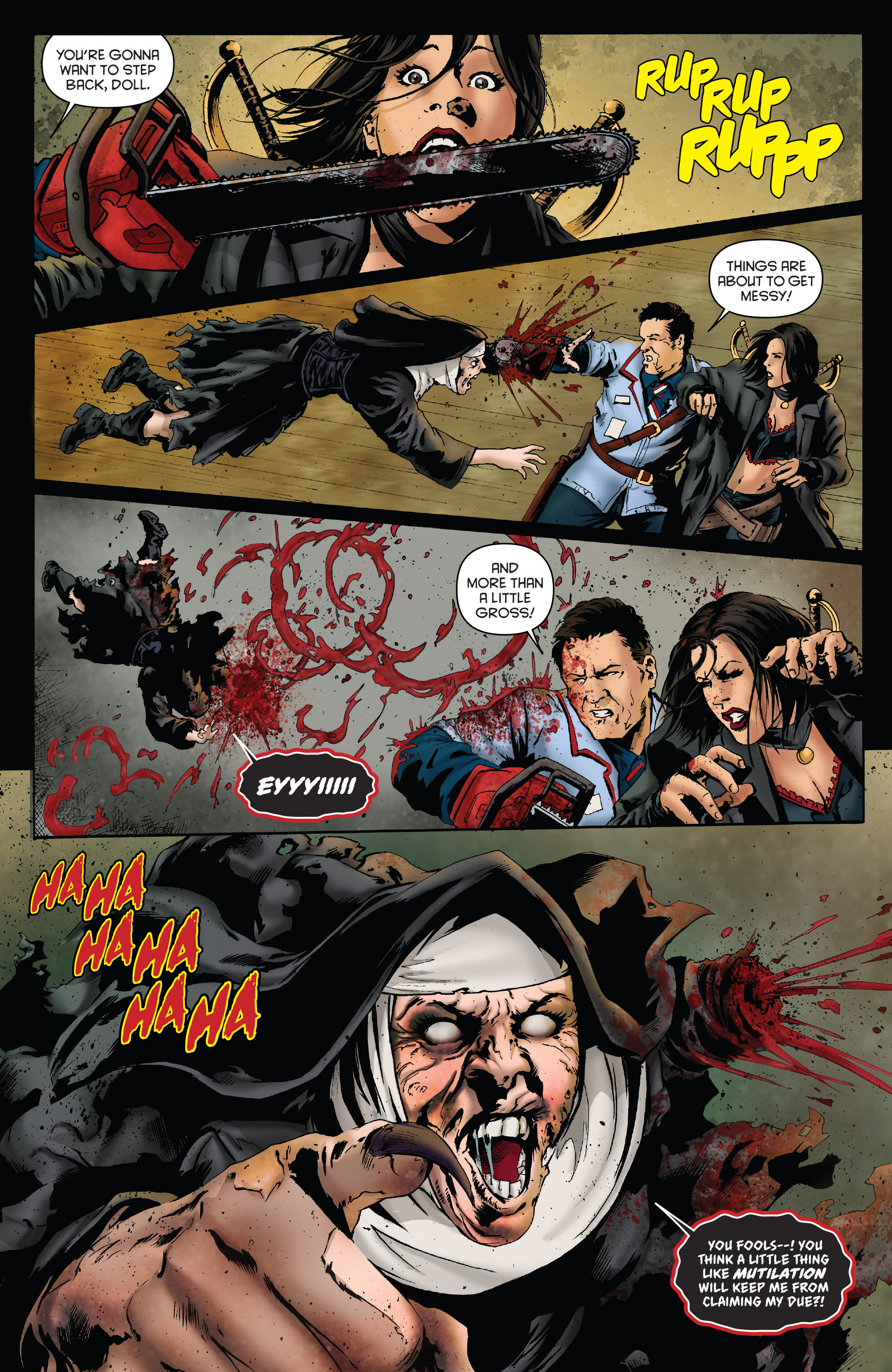 Read online Army of Darkness: Furious Road comic -  Issue #3 - 15
