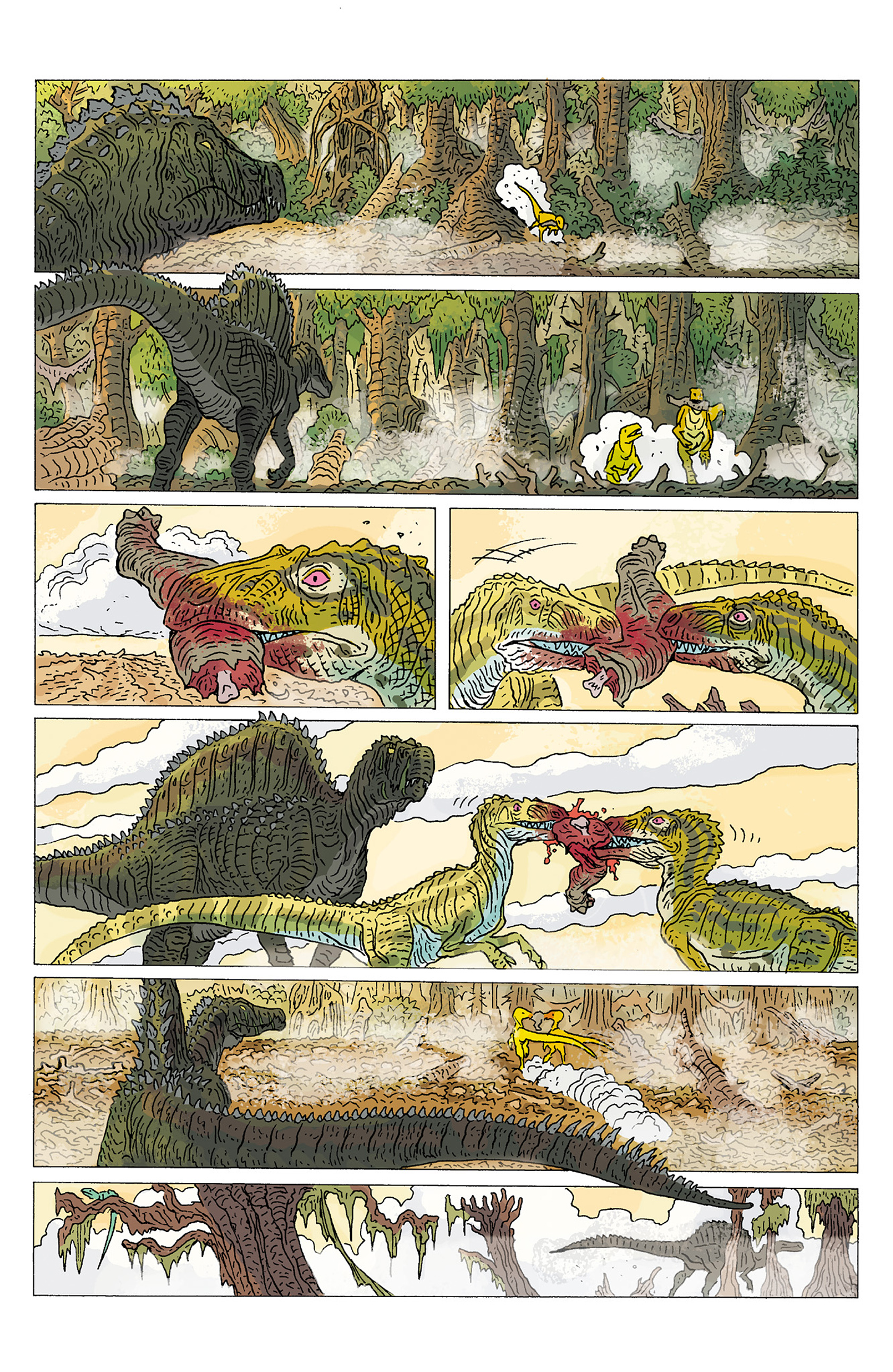 Read online Age of Reptiles: Ancient Egyptians comic -  Issue #1 - 5