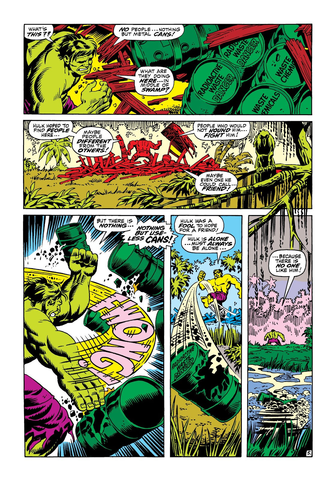 Read online Marvel Masterworks: The Incredible Hulk comic -  Issue # TPB 5 (Part 3) - 21