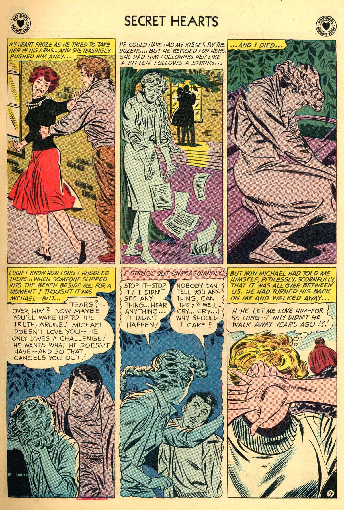 Read online Secret Hearts comic -  Issue #66 - 11