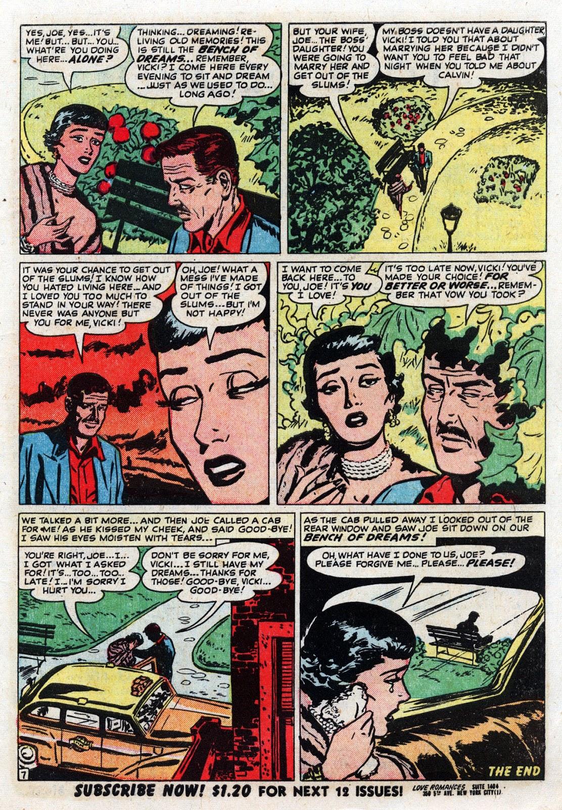 Love Romances (1949) issue 19 - Page 9