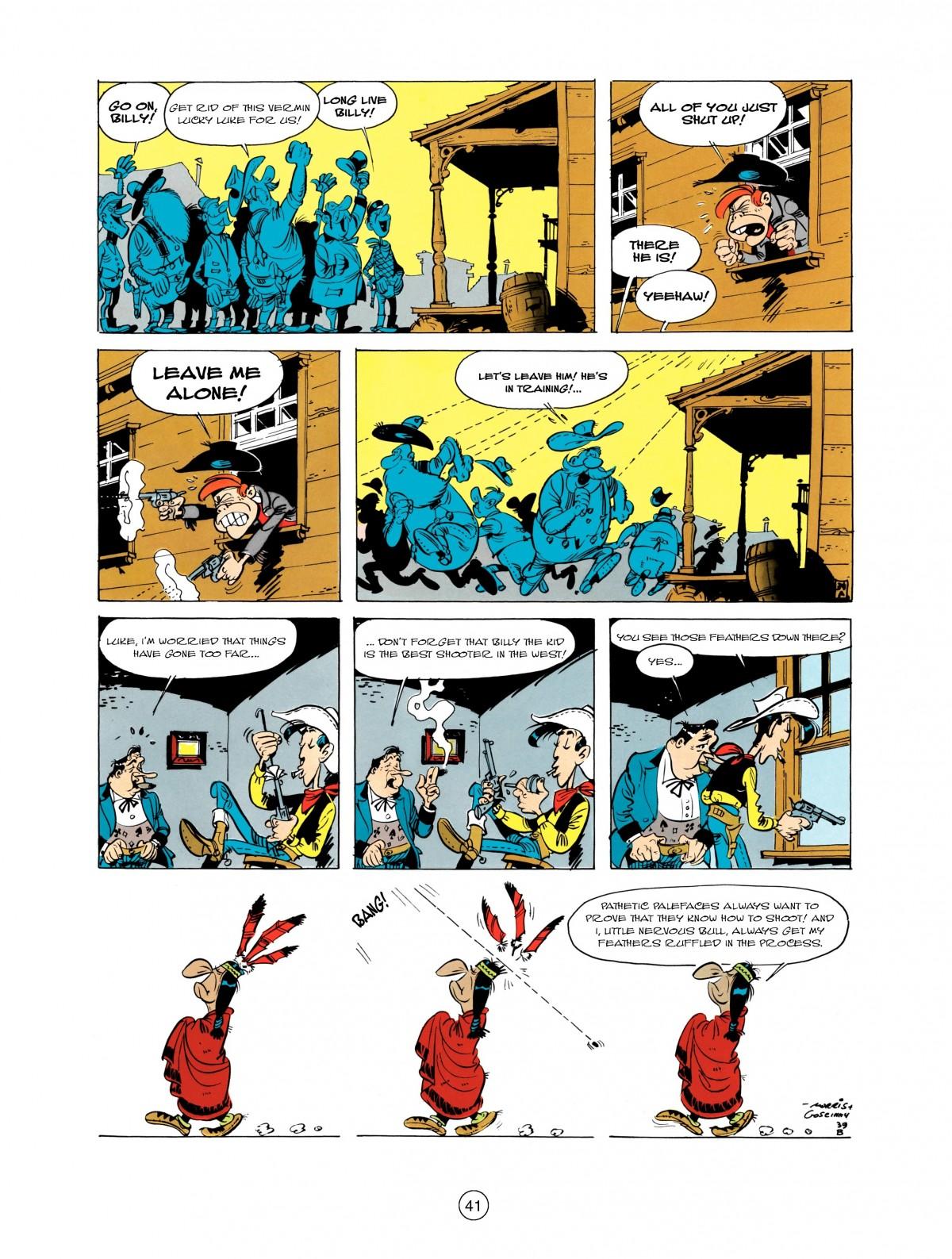 Read online A Lucky Luke Adventure comic -  Issue #1 - 43