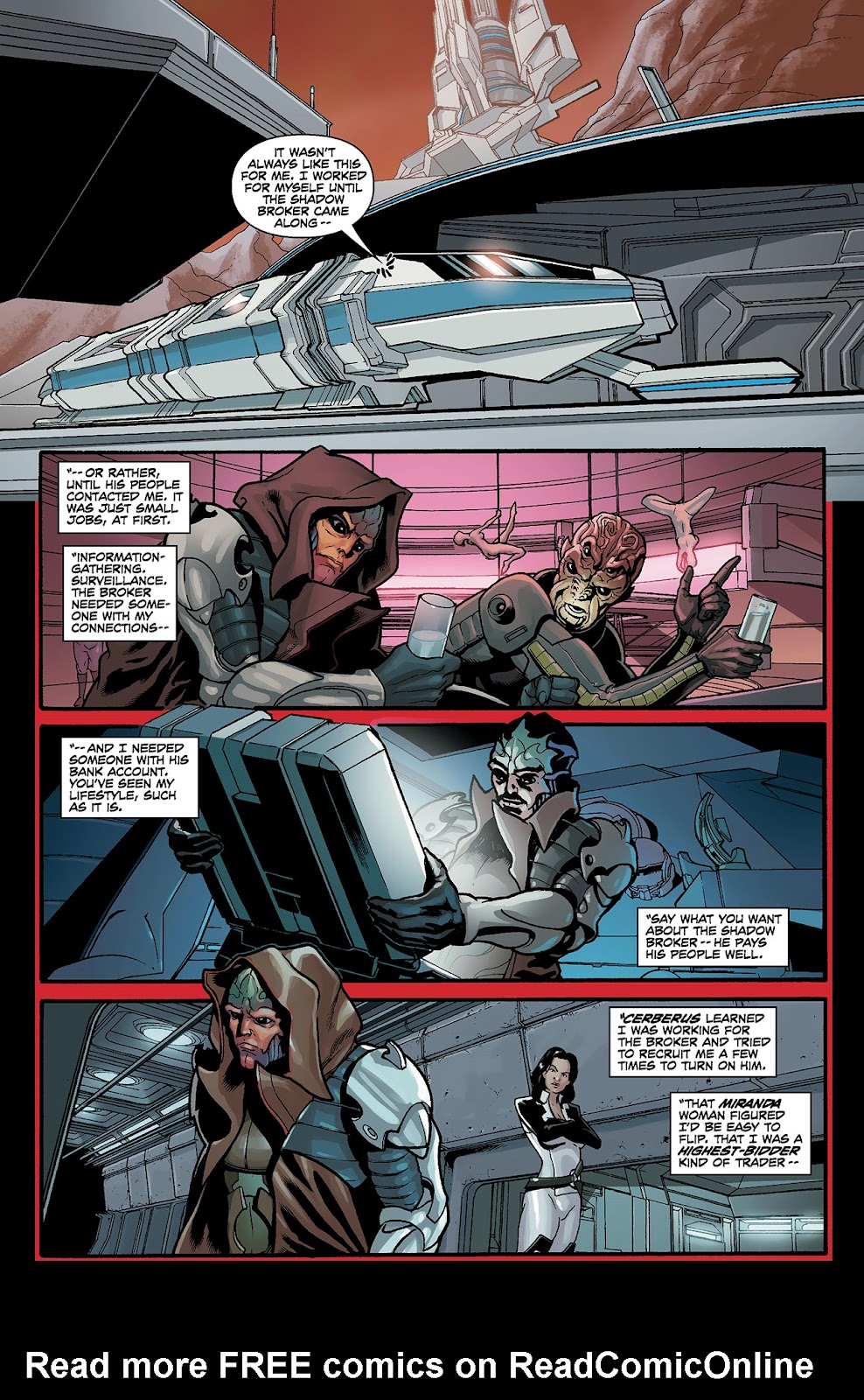 Mass Effect: Redemption Issue #4 #4 - English 7