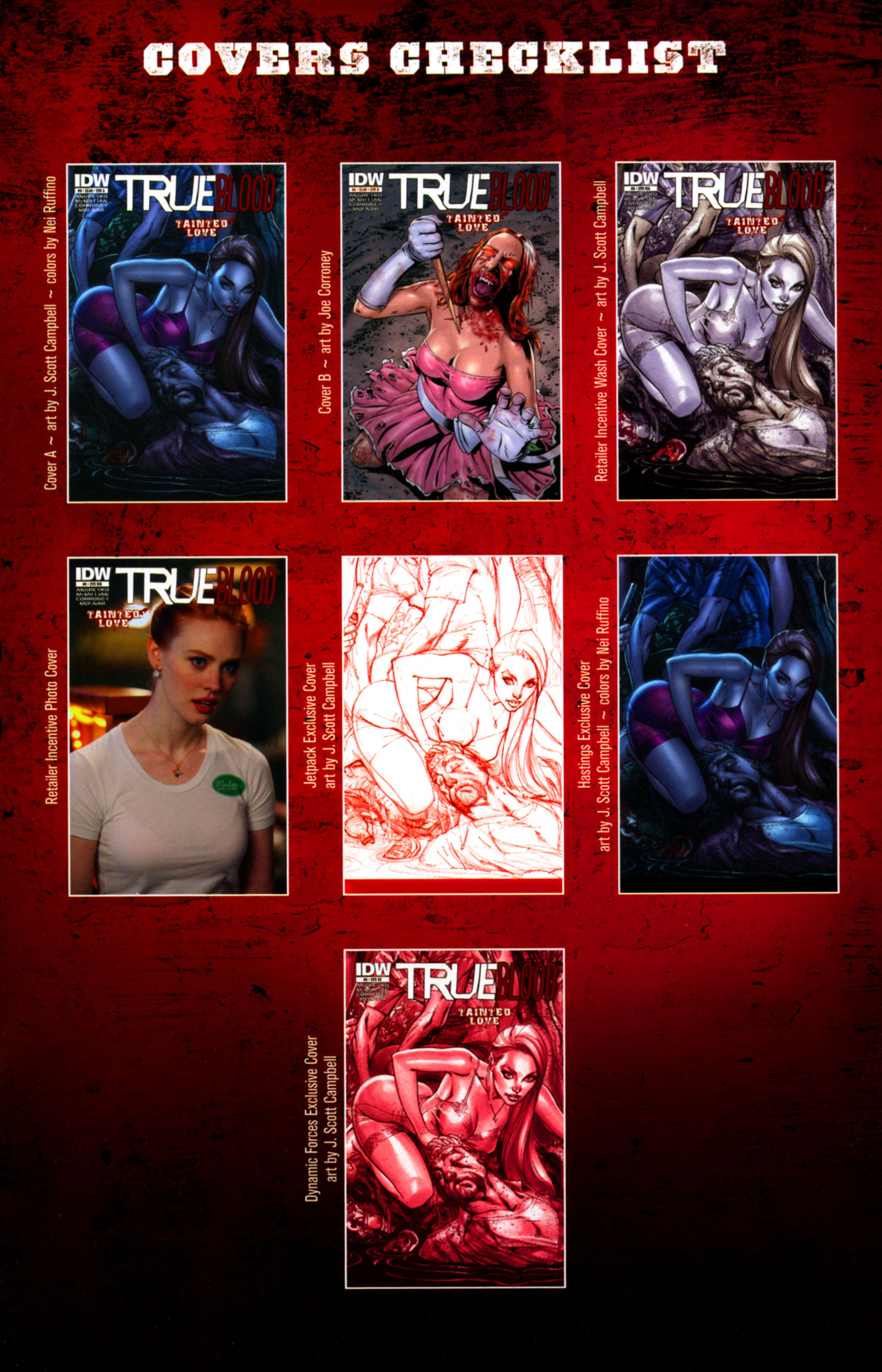 Read online True Blood: Tainted Love comic -  Issue #6 - 25