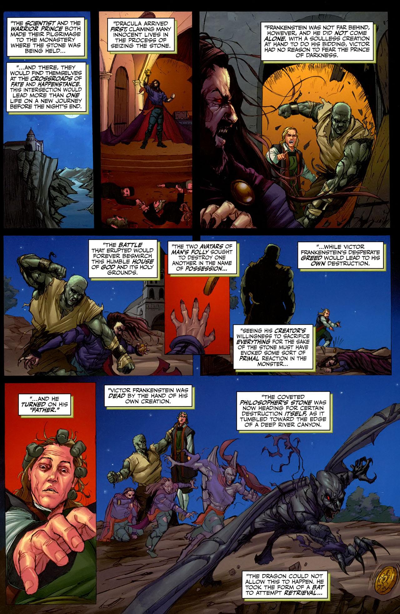 Read online Eva: Daughter of the Dragon comic -  Issue # Full - 5