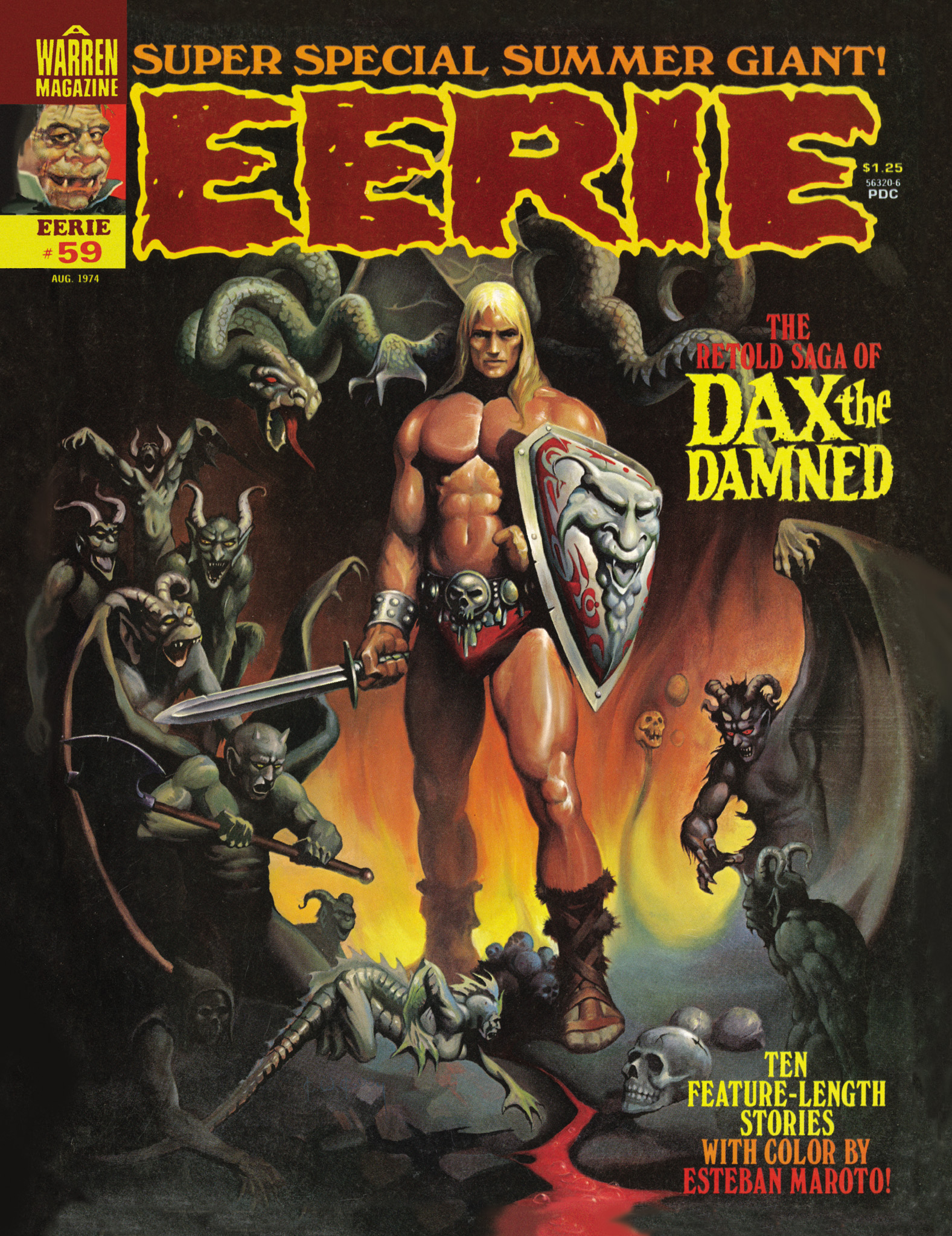 Read online Eerie Archives comic -  Issue # TPB 12 - 196