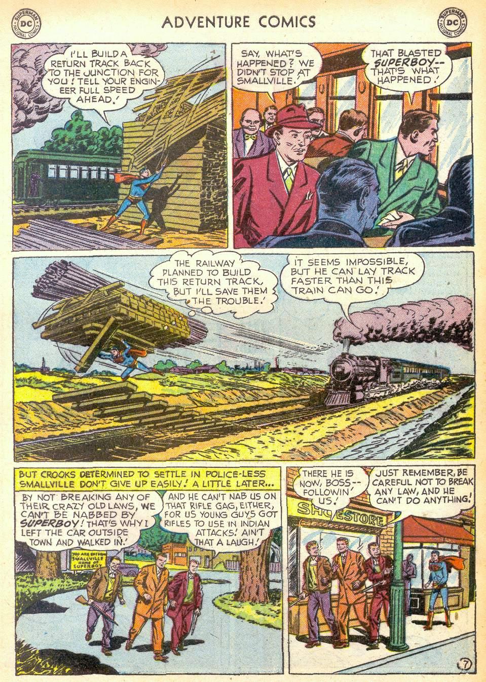 Read online Adventure Comics (1938) comic -  Issue #172 - 9