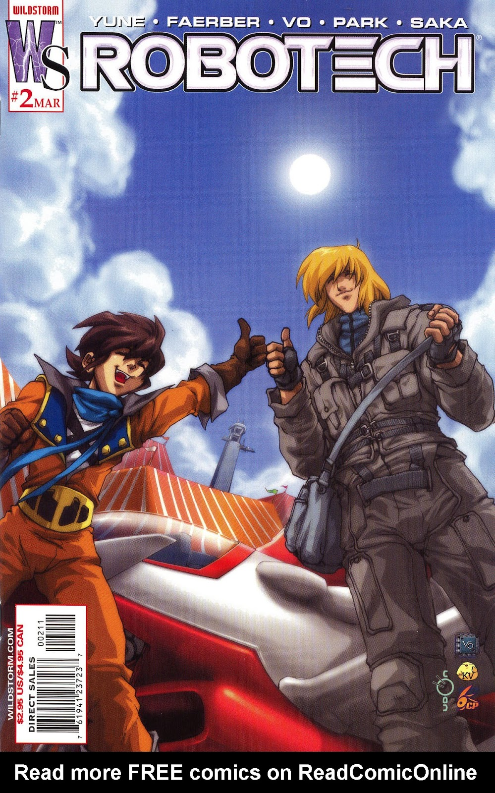 Robotech (2003) issue 2 - Page 1