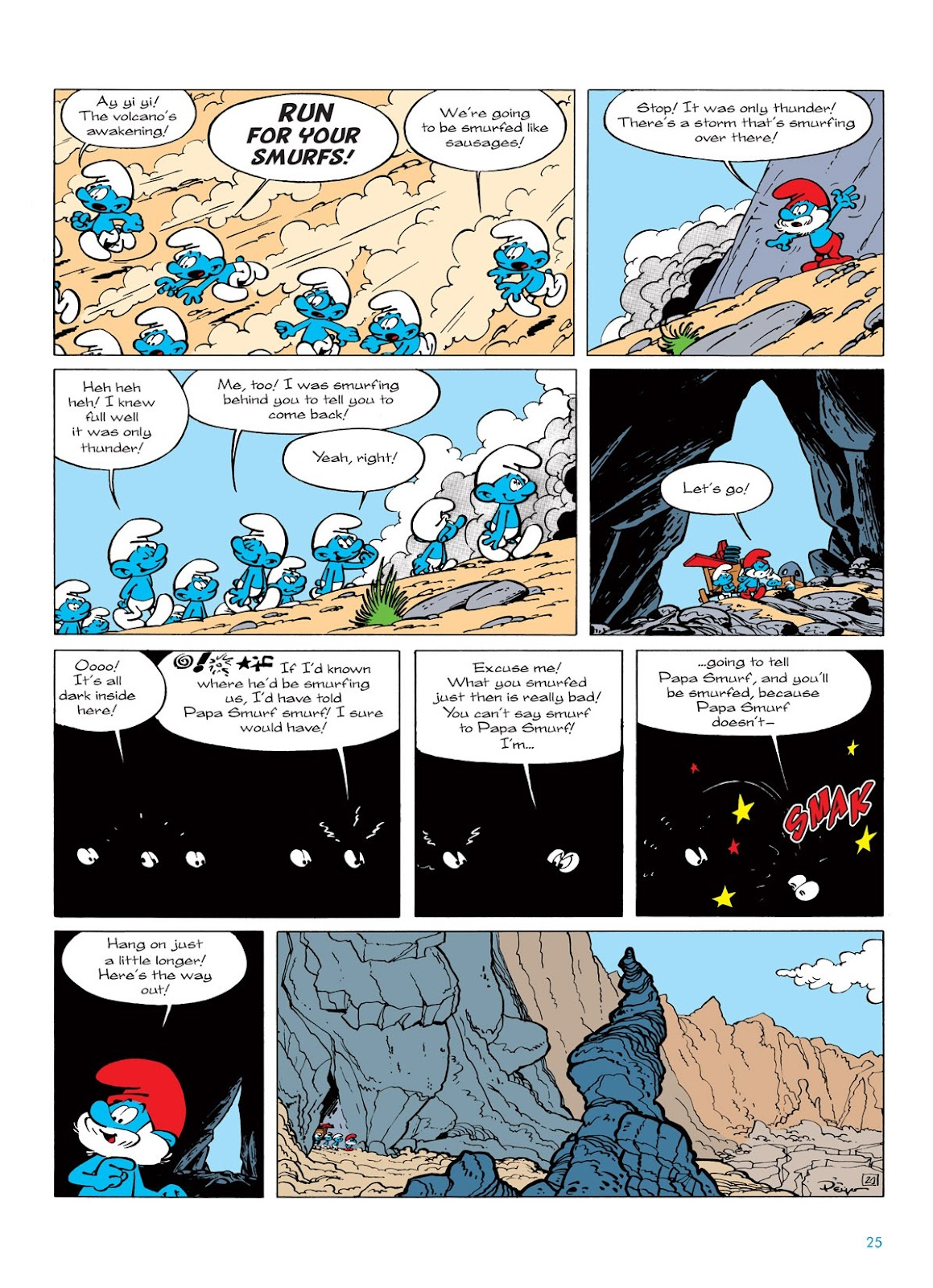 Read online The Smurfs comic -  Issue #7 - 25