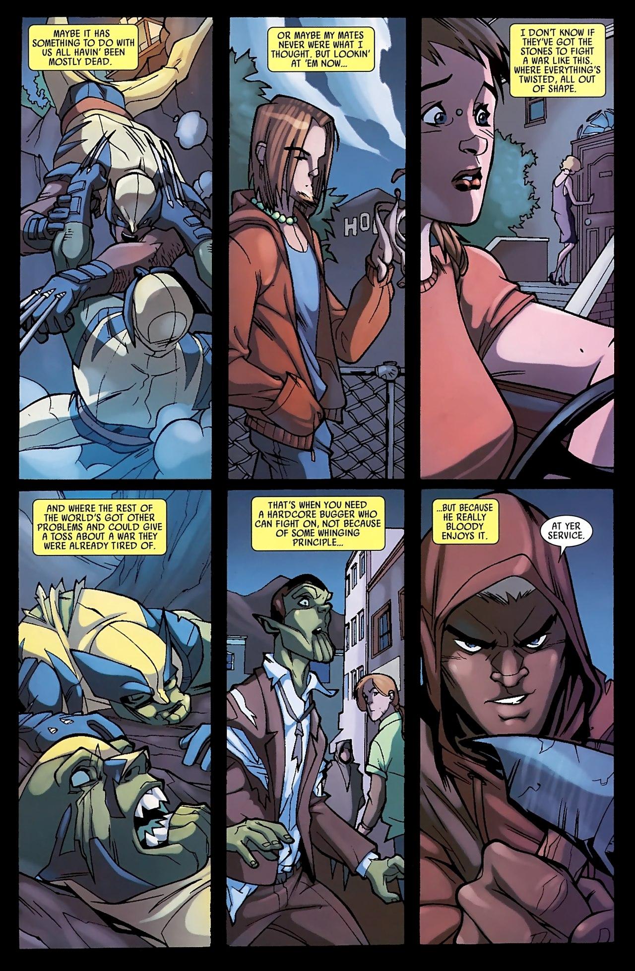 Read online Skrull Kill Krew (2009) comic -  Issue #3 - 23