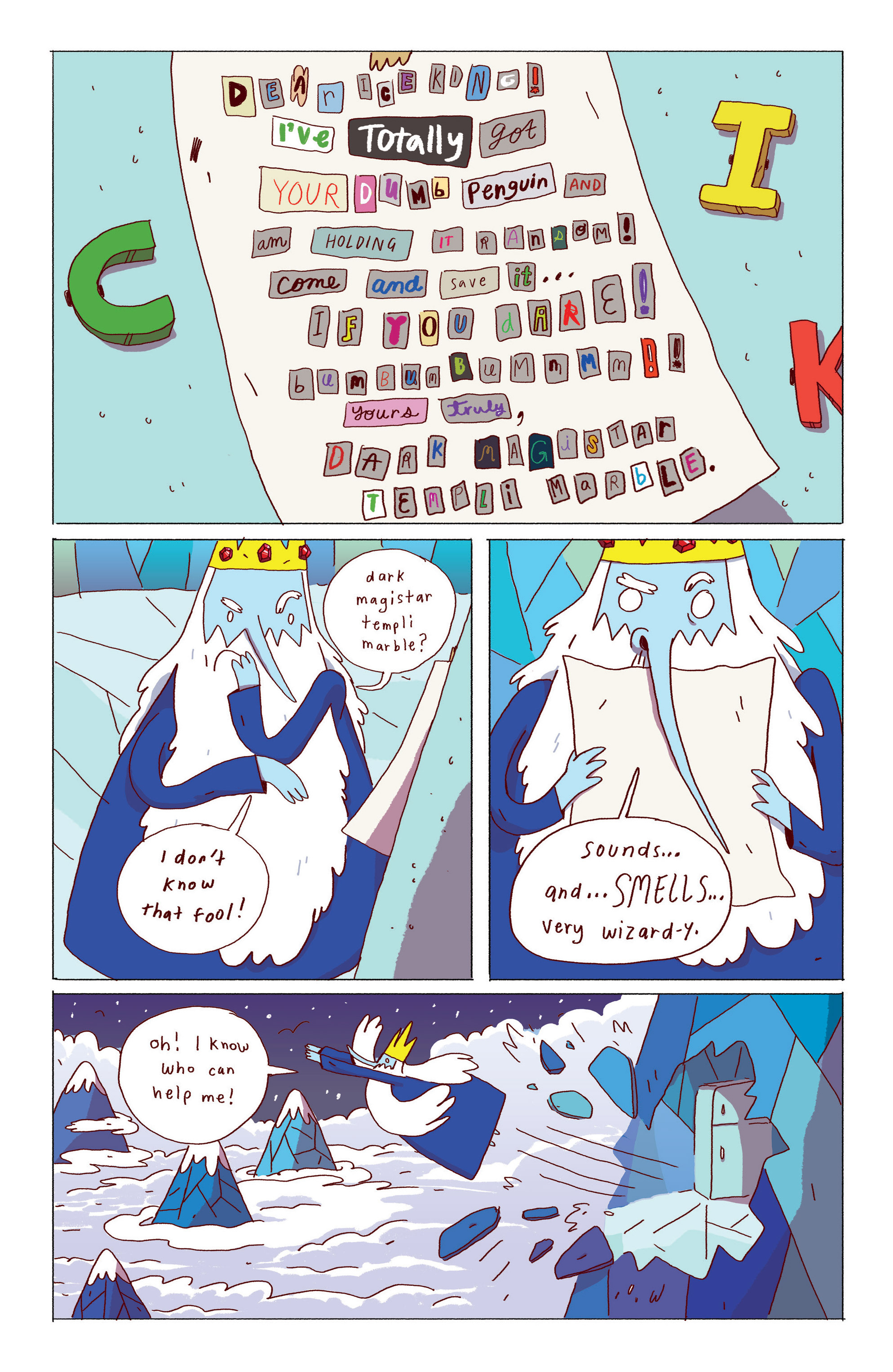 Read online Adventure Time: Ice King comic -  Issue #1 - 14