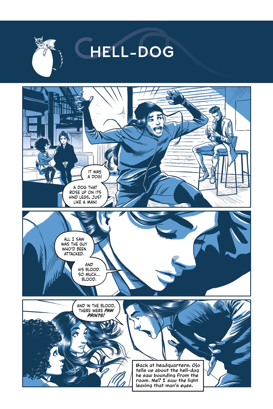 Read online Under the Moon: A Catwoman Tale comic -  Issue # TPB (Part 2) - 32