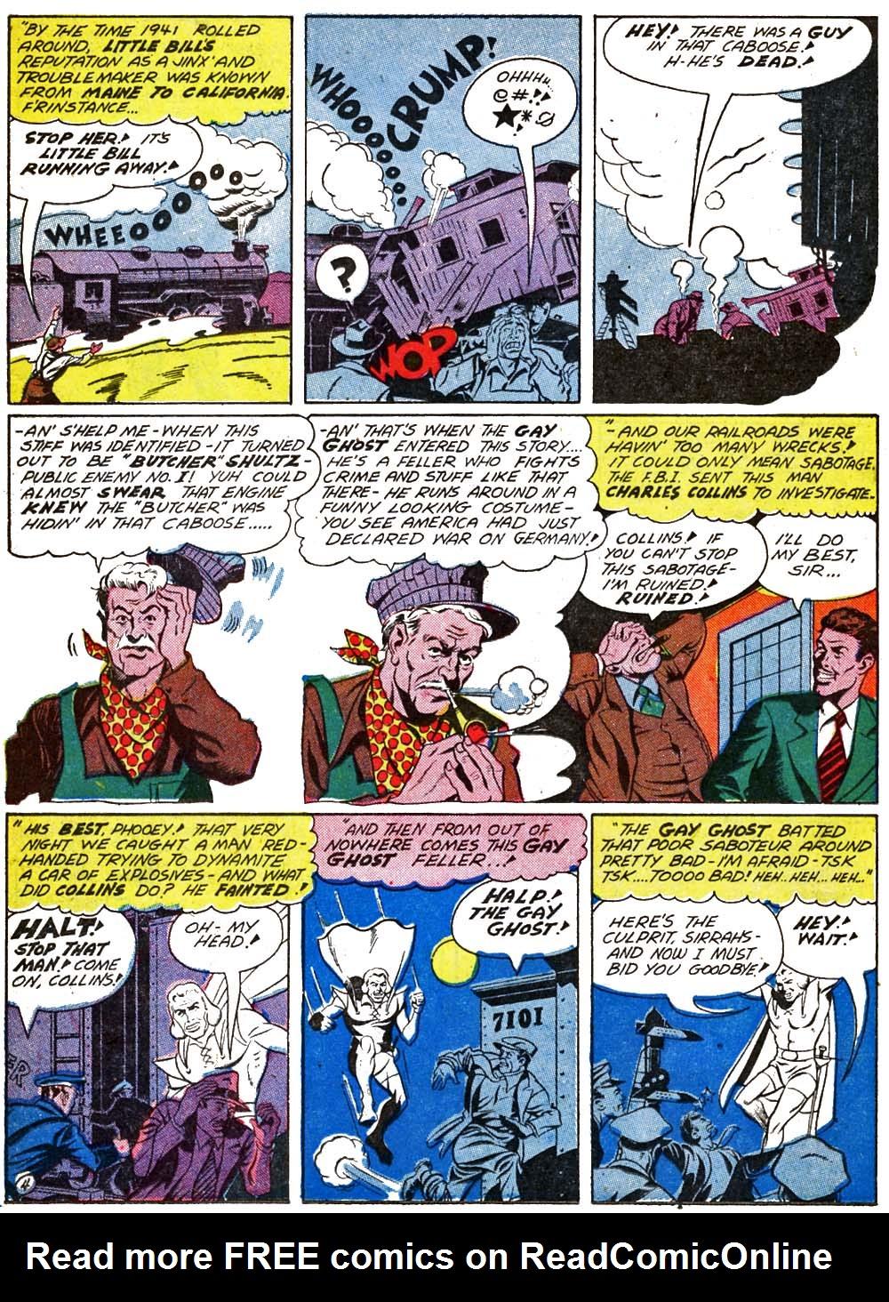 Read online Sensation (Mystery) Comics comic -  Issue #29 - 34