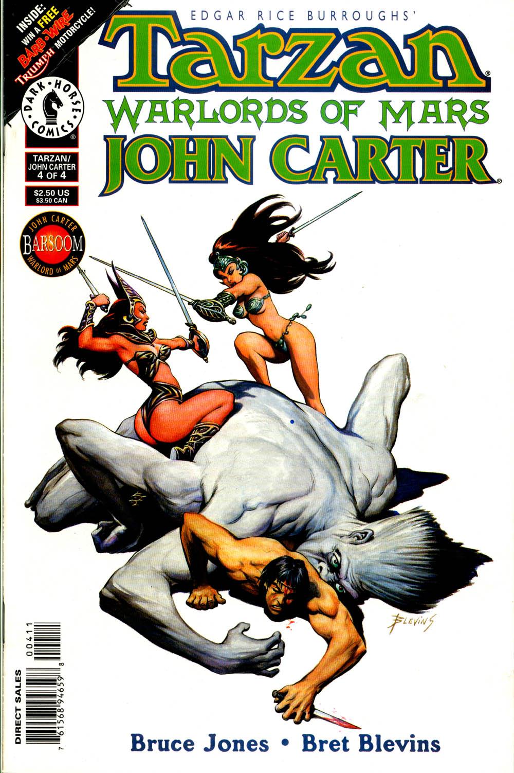 Tarzan/John Carter: Warlords of Mars issue 4 - Page 1