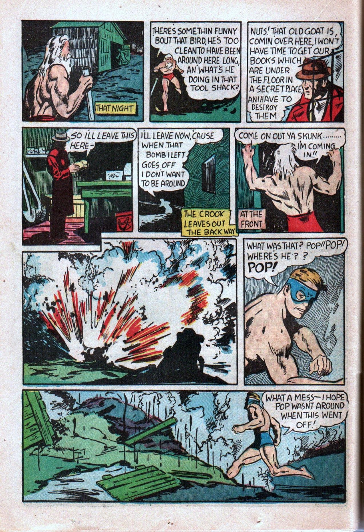 Read online Amazing Man Comics comic -  Issue #20 - 47