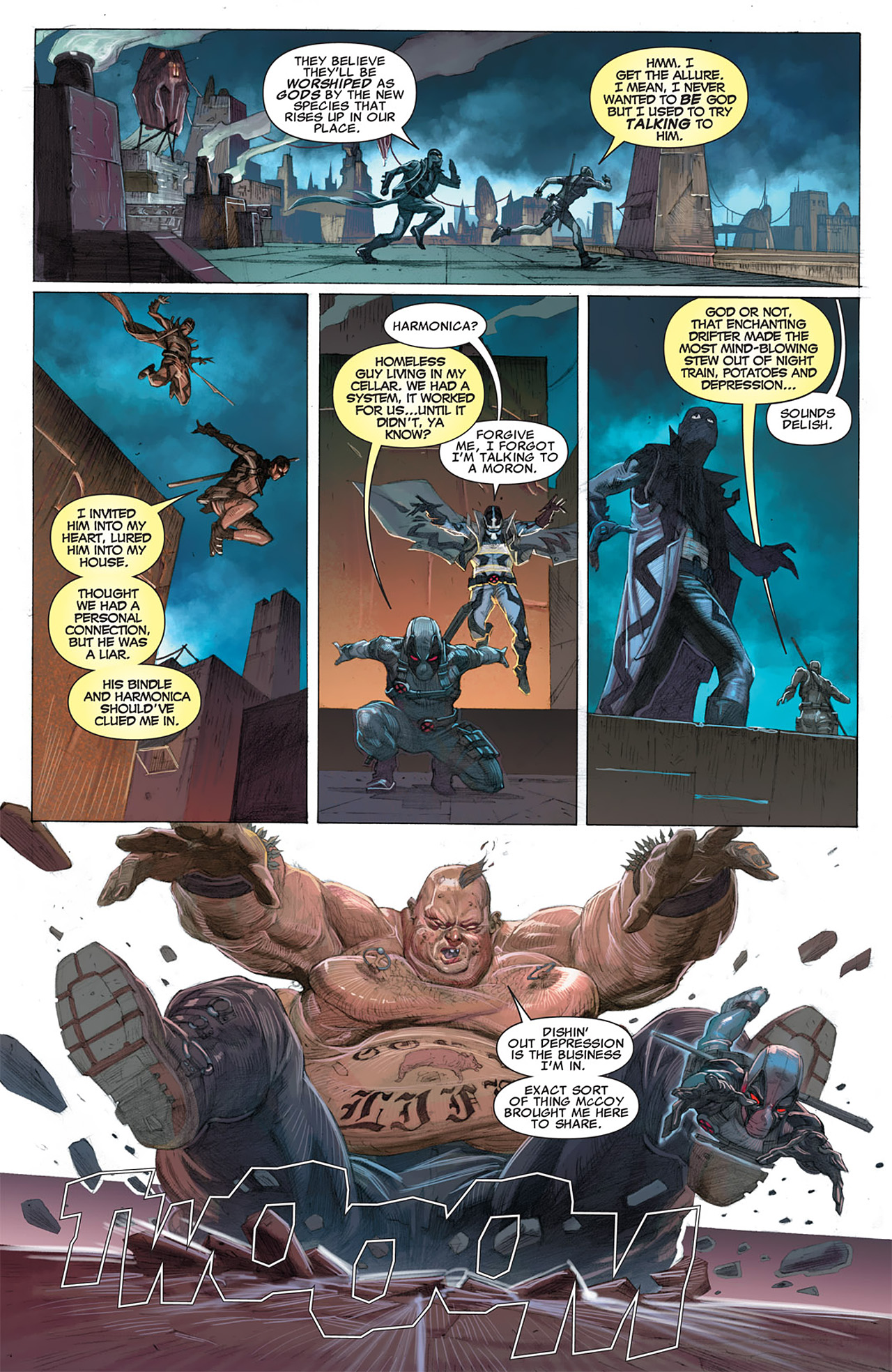 Read online Uncanny X-Force (2010) comic -  Issue #16 - 7