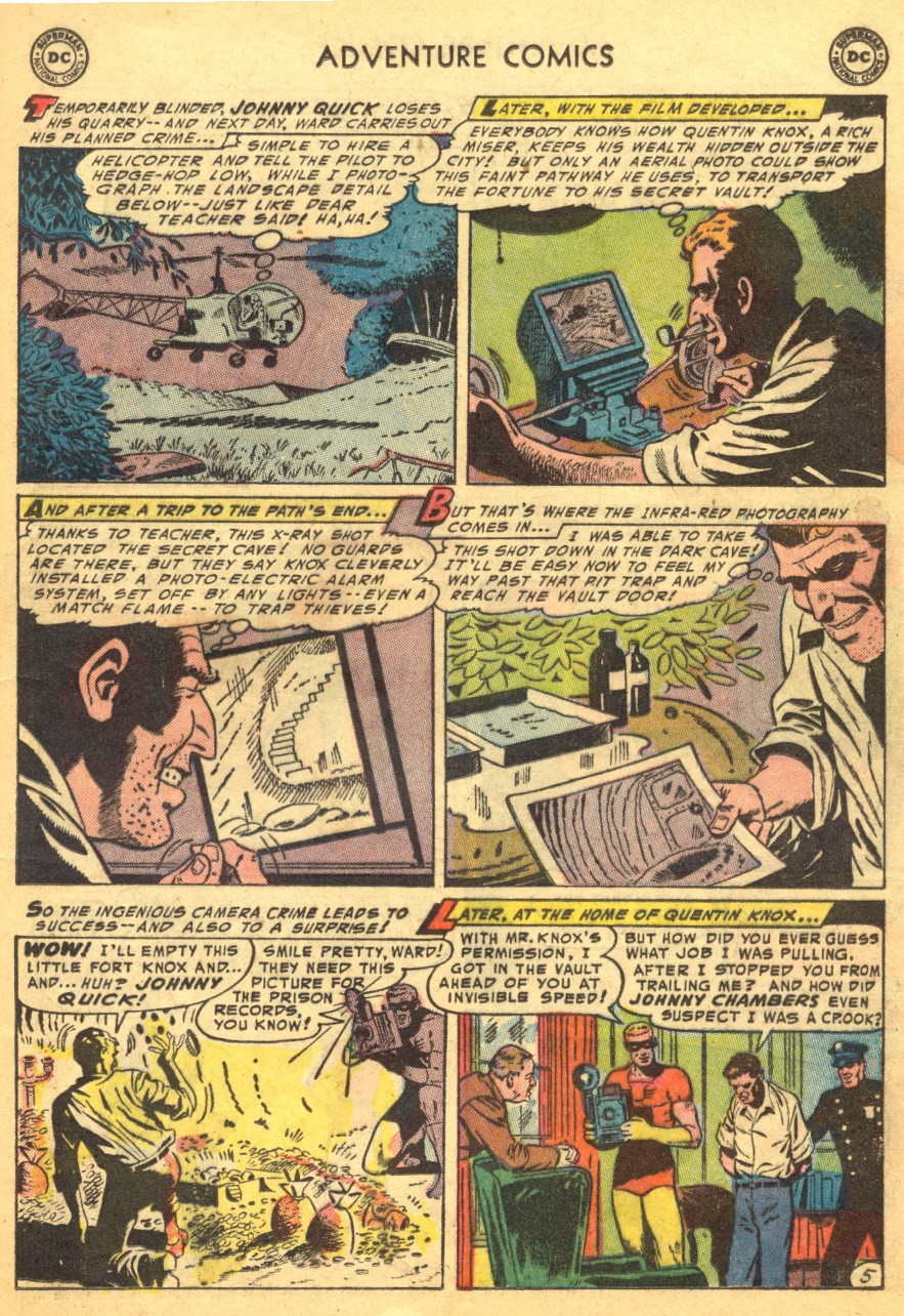 Read online Adventure Comics (1938) comic -  Issue #203 - 29