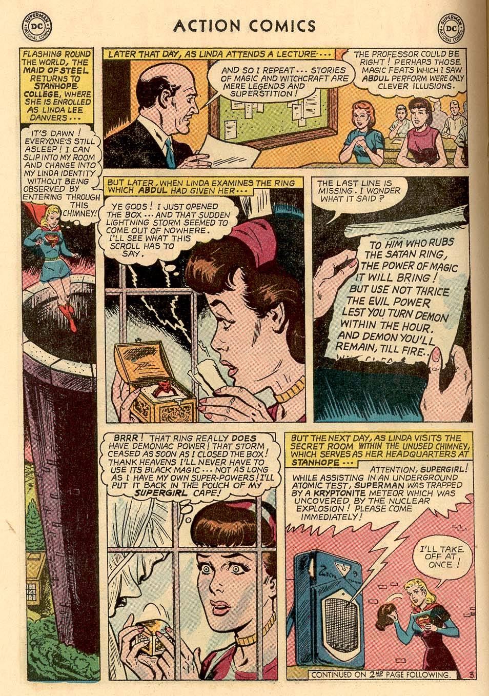 Read online Action Comics (1938) comic -  Issue #324 - 22