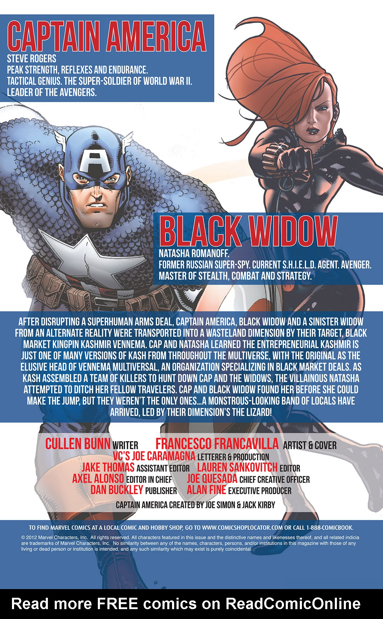 Read online Captain America And Black Widow comic -  Issue #639 - 2