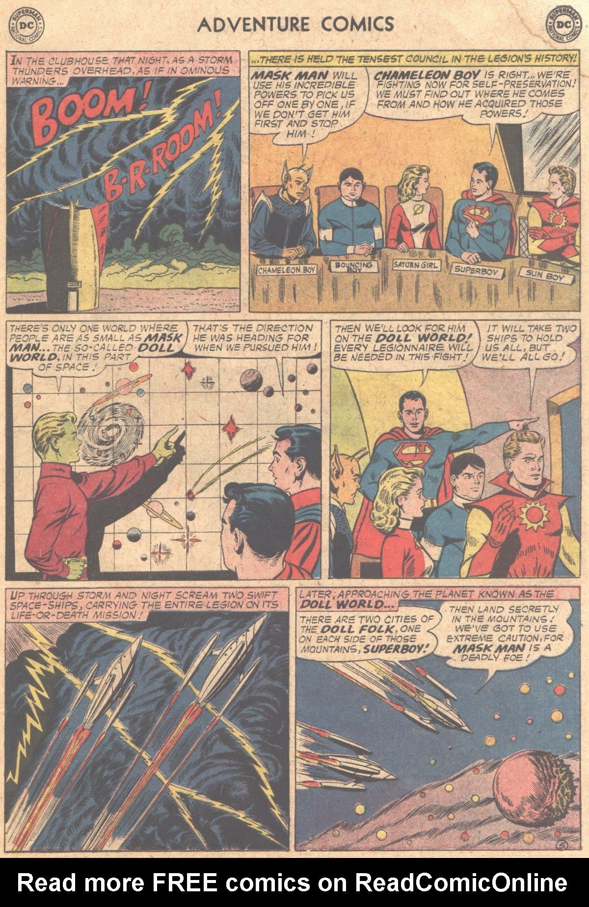 Read online Adventure Comics (1938) comic -  Issue #310 - 7