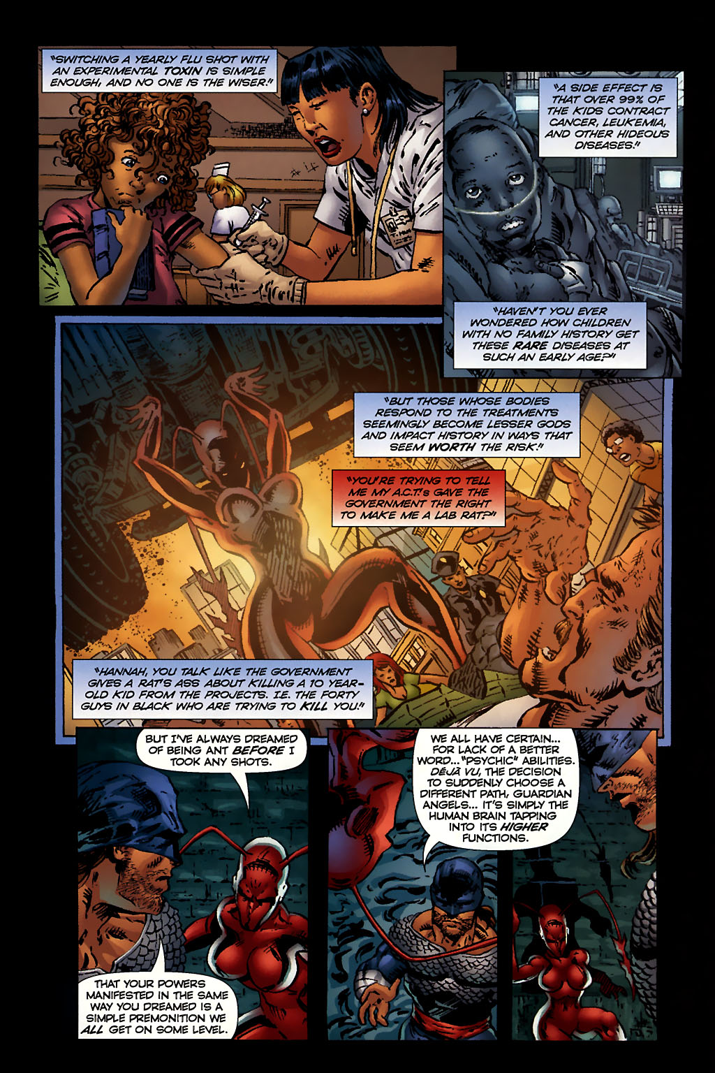 Read online Ant comic -  Issue #10 - 12