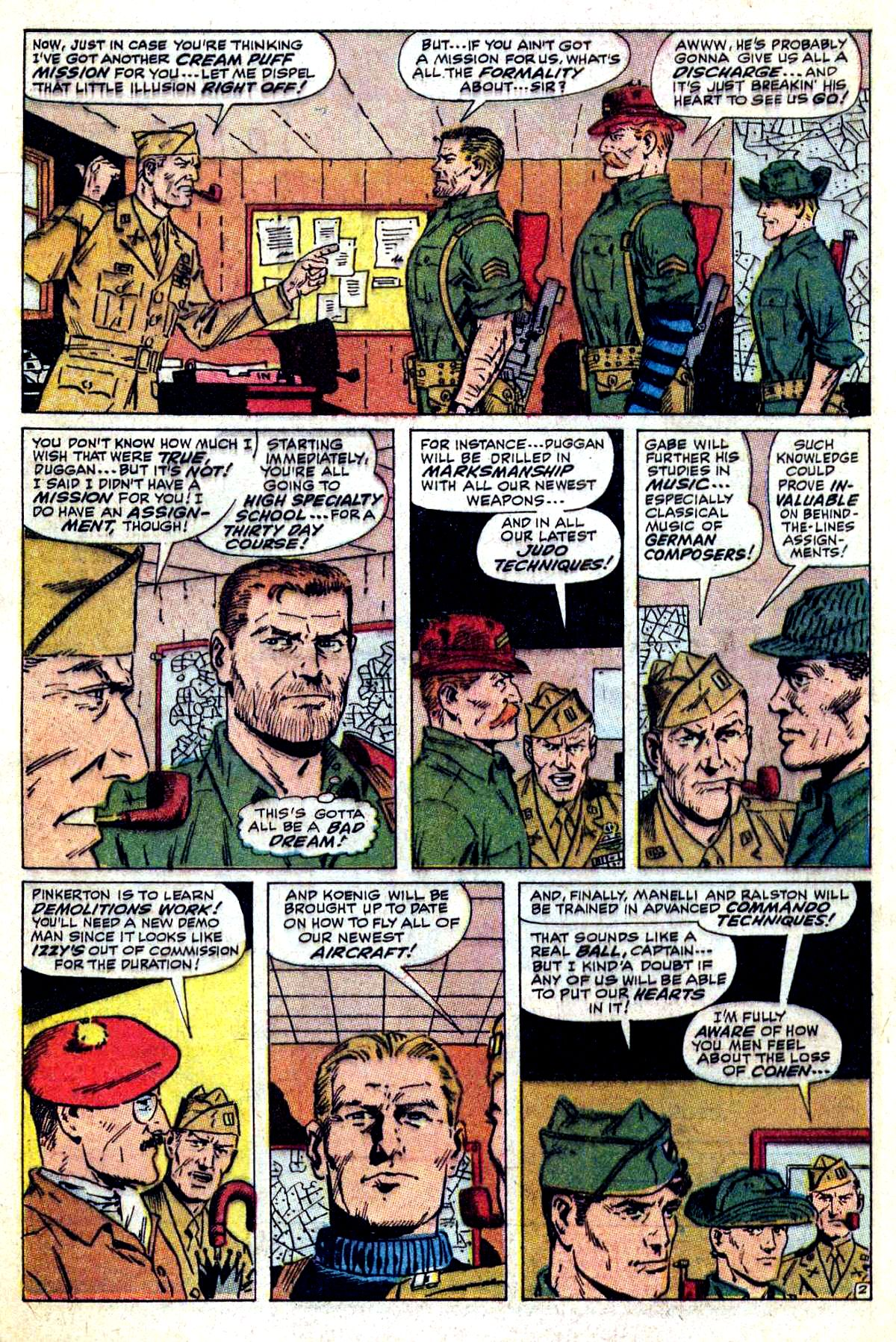 Read online Sgt. Fury comic -  Issue #54 - 4