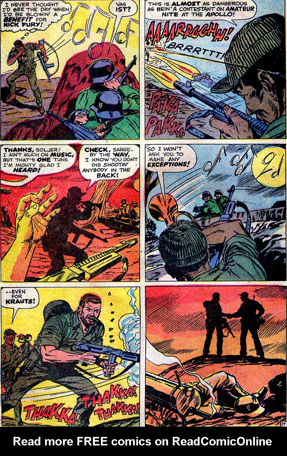 Read online Sgt. Fury comic -  Issue #88 - 24