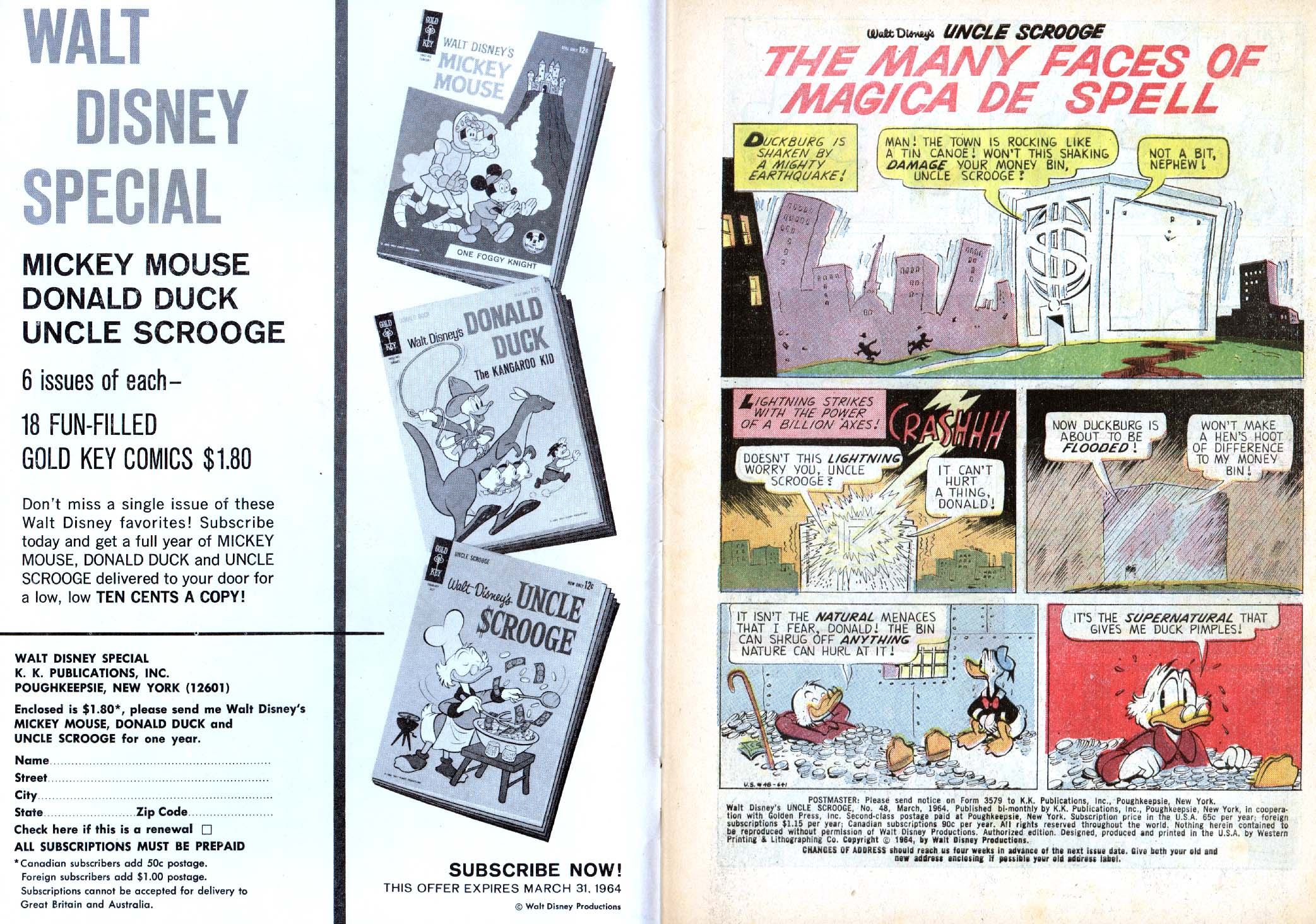 Read online Uncle Scrooge (1953) comic -  Issue #48 - 2