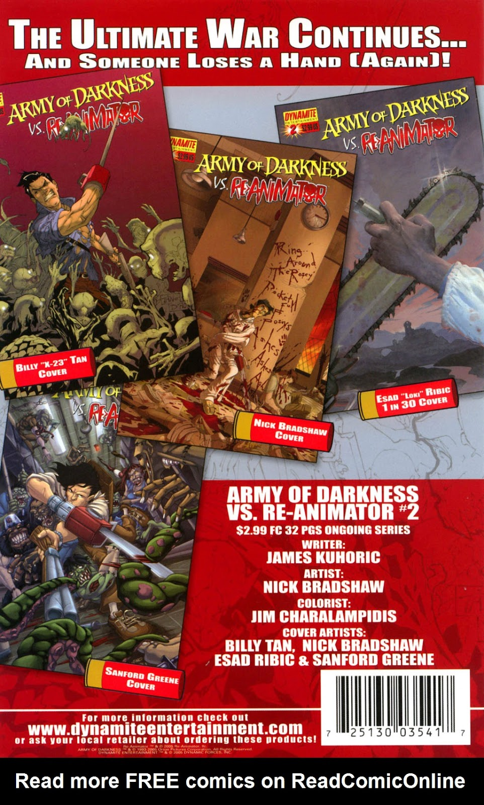 Army of Darkness vs. Re-Animator Issue #1 #1 - English 28