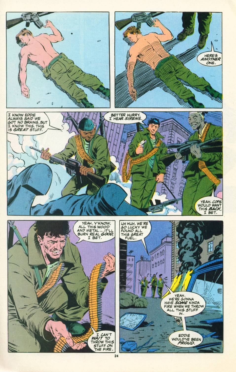 Read online Justice (1986) comic -  Issue #22 - 25