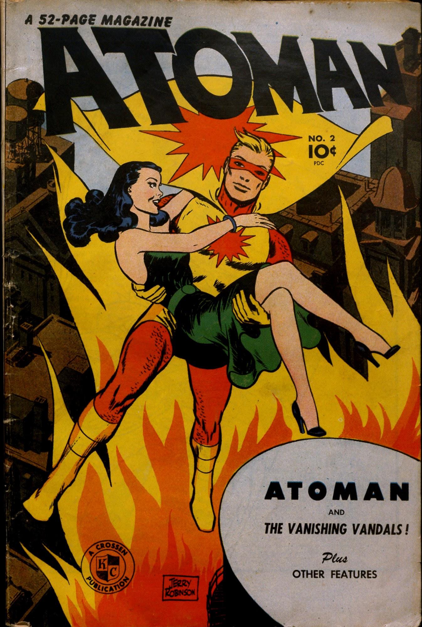Atoman Comics 2 Page 1