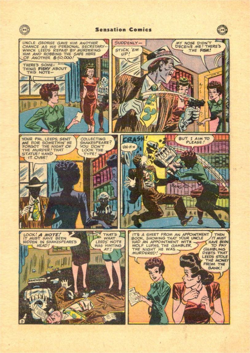 Read online Sensation (Mystery) Comics comic -  Issue #84 - 21
