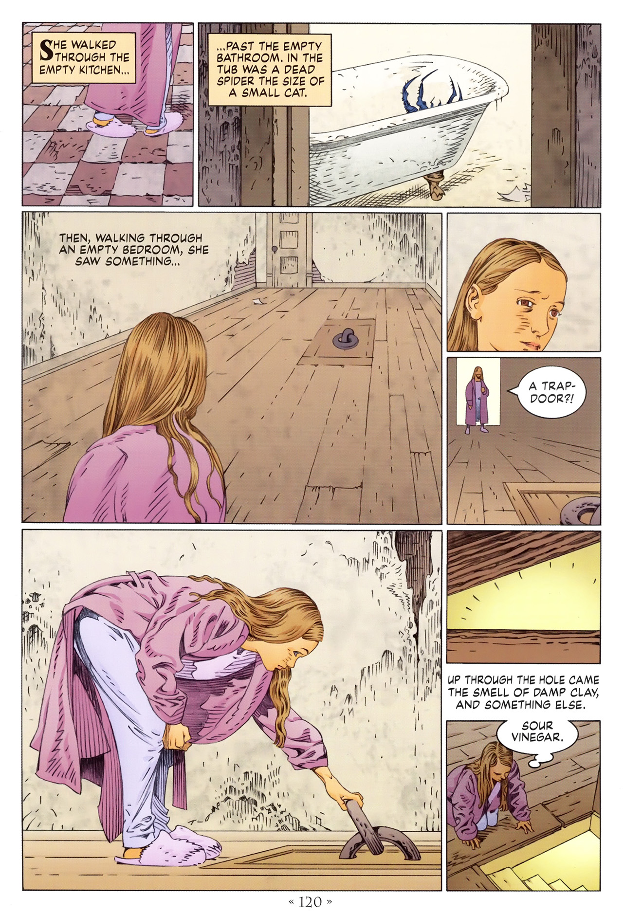Read online Coraline comic -  Issue #1 - 126