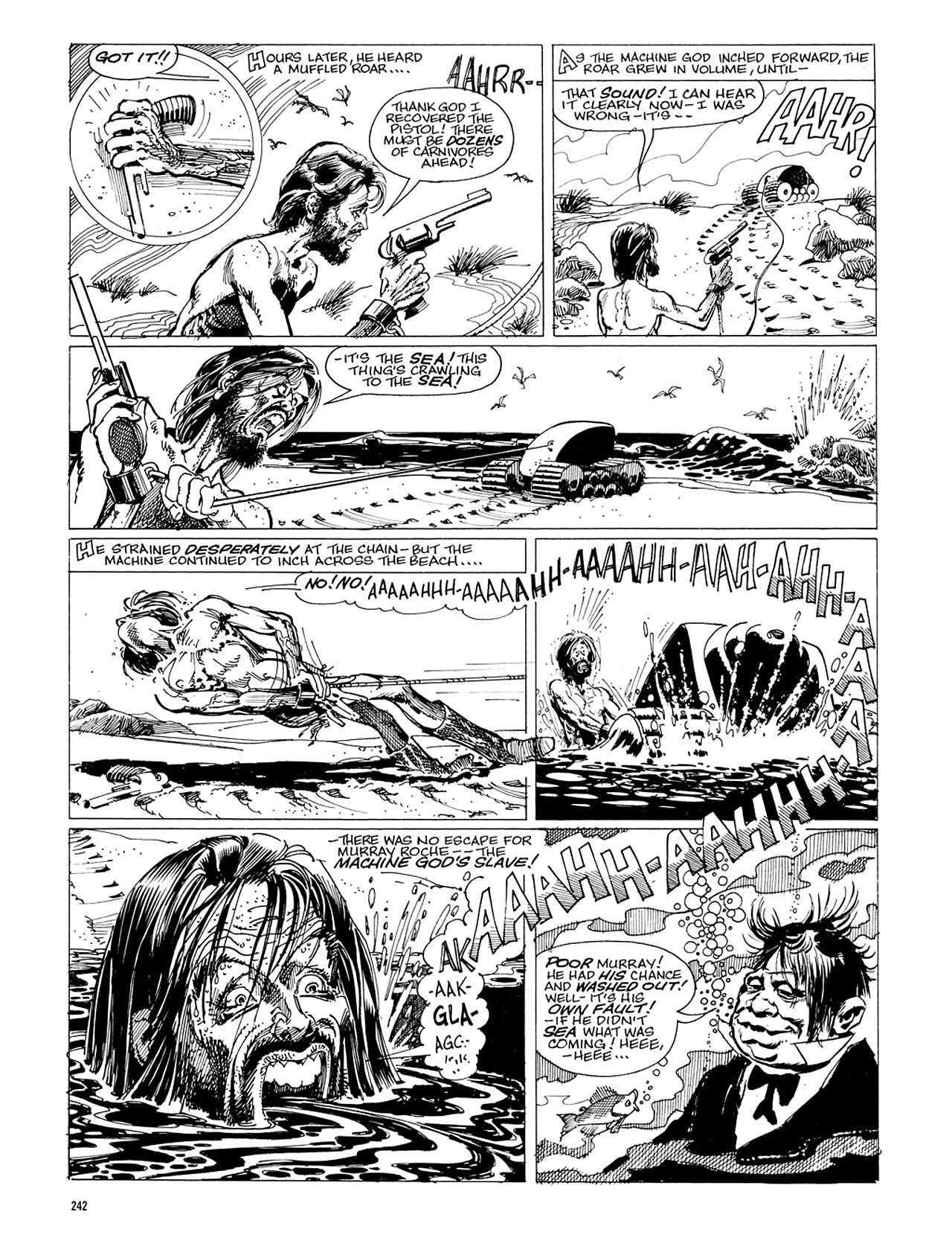 Read online Eerie Archives comic -  Issue # TPB 5 - 243