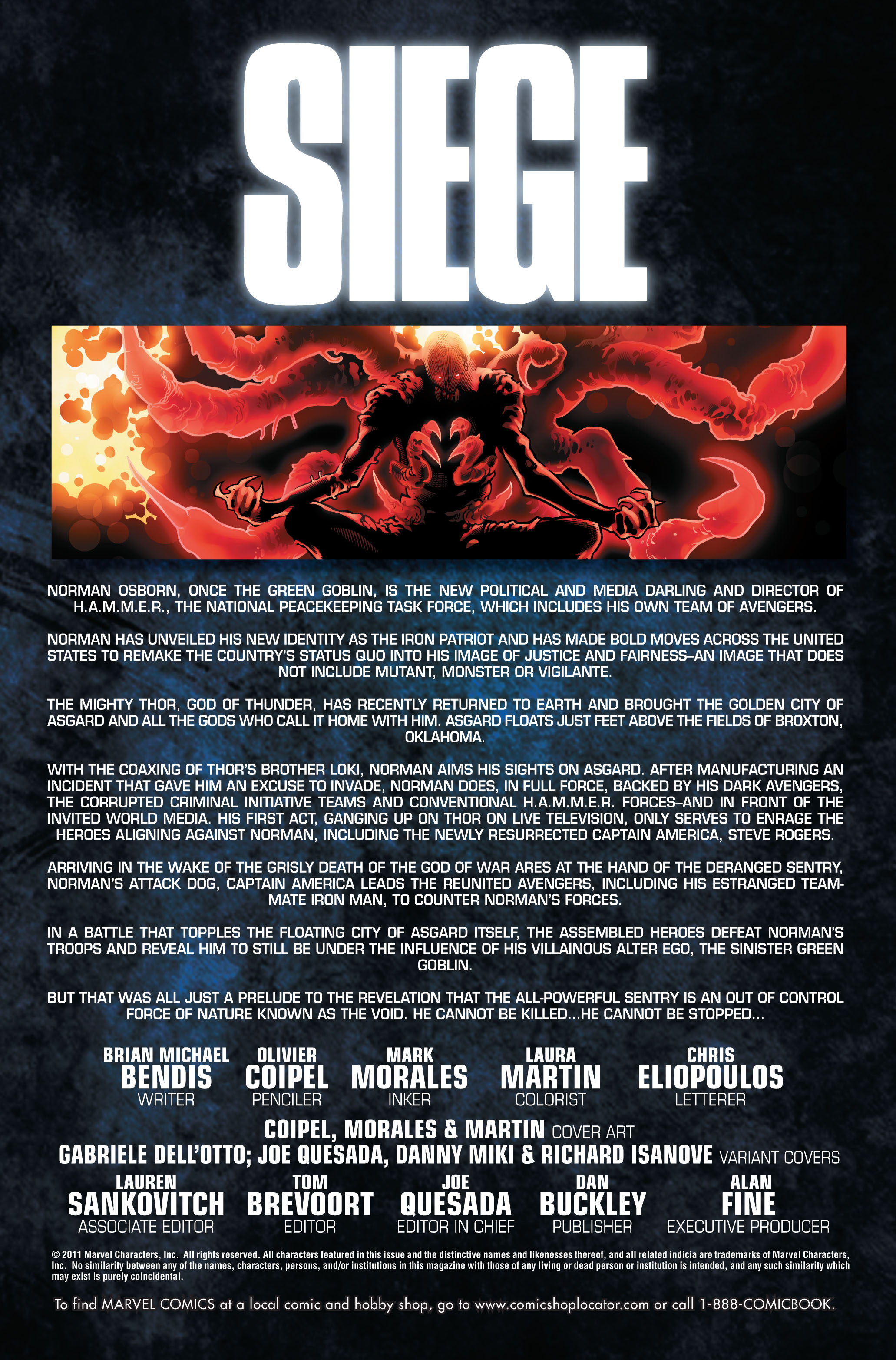 Read online Siege (2010) comic -  Issue #4 - 2