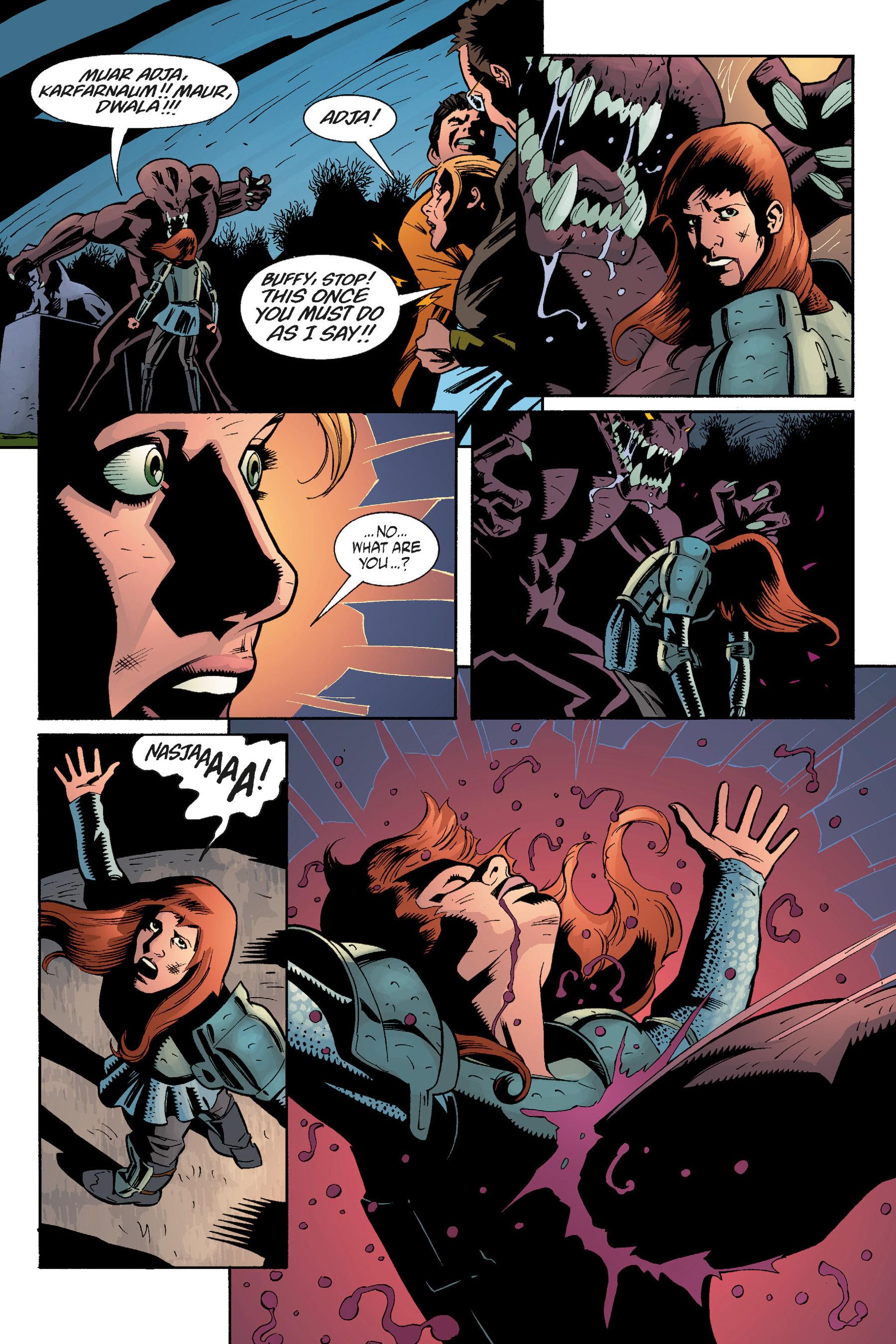 Read online Buffy the Vampire Slayer: Omnibus comic -  Issue # TPB 5 - 275