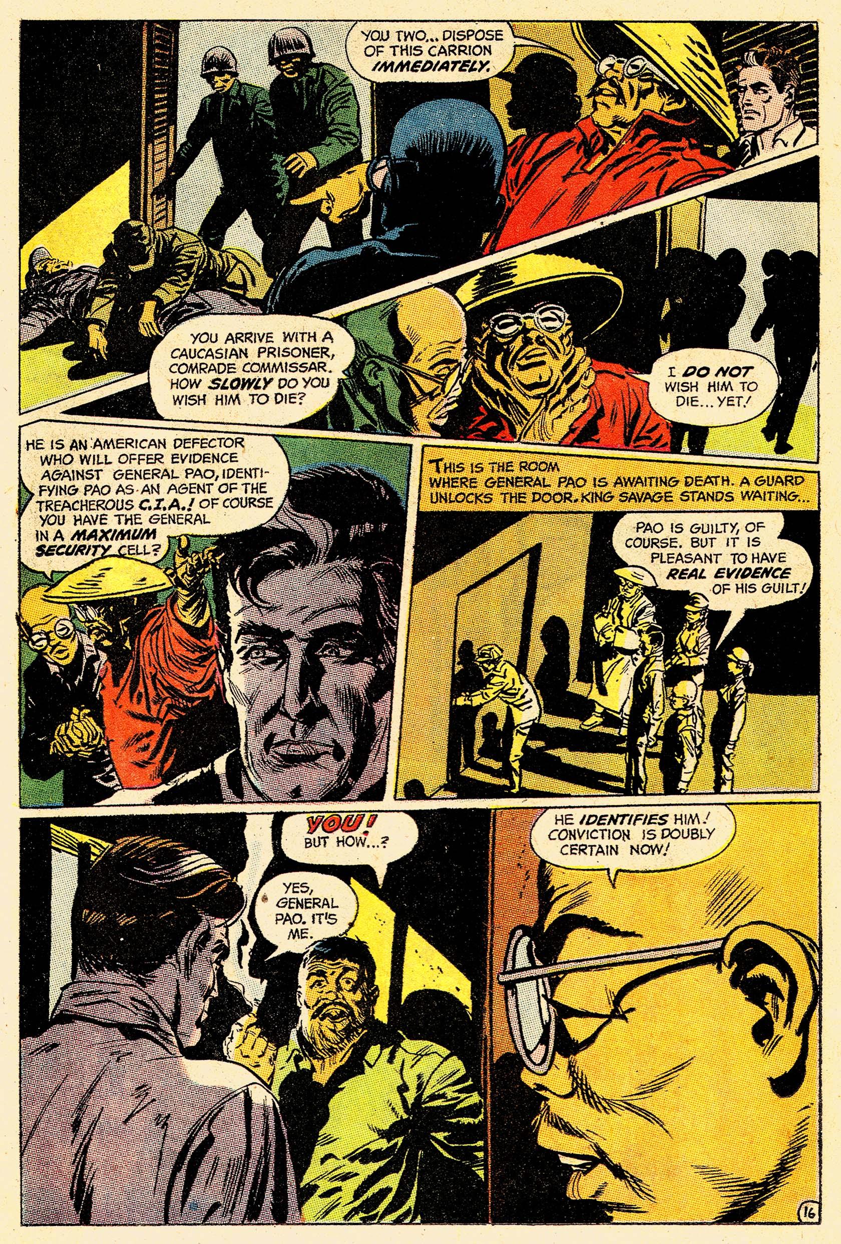 Read online Secret Six (1968) comic -  Issue #4 - 21