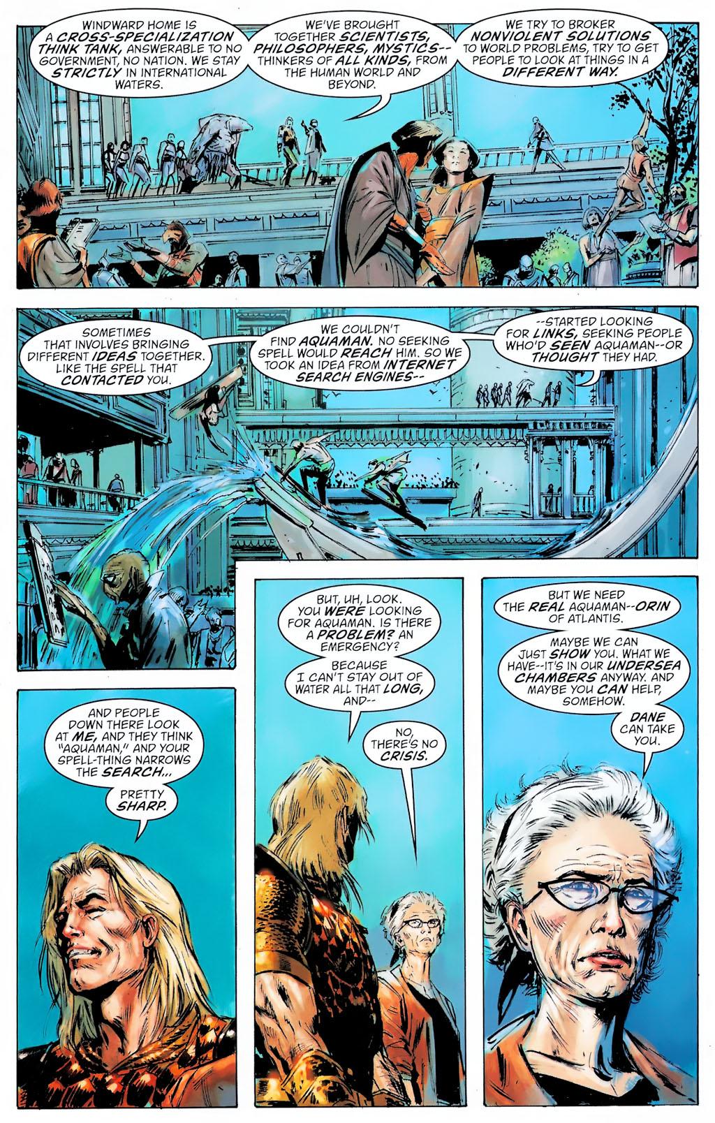 Read online Aquaman: Sword of Atlantis comic -  Issue #42 - 21