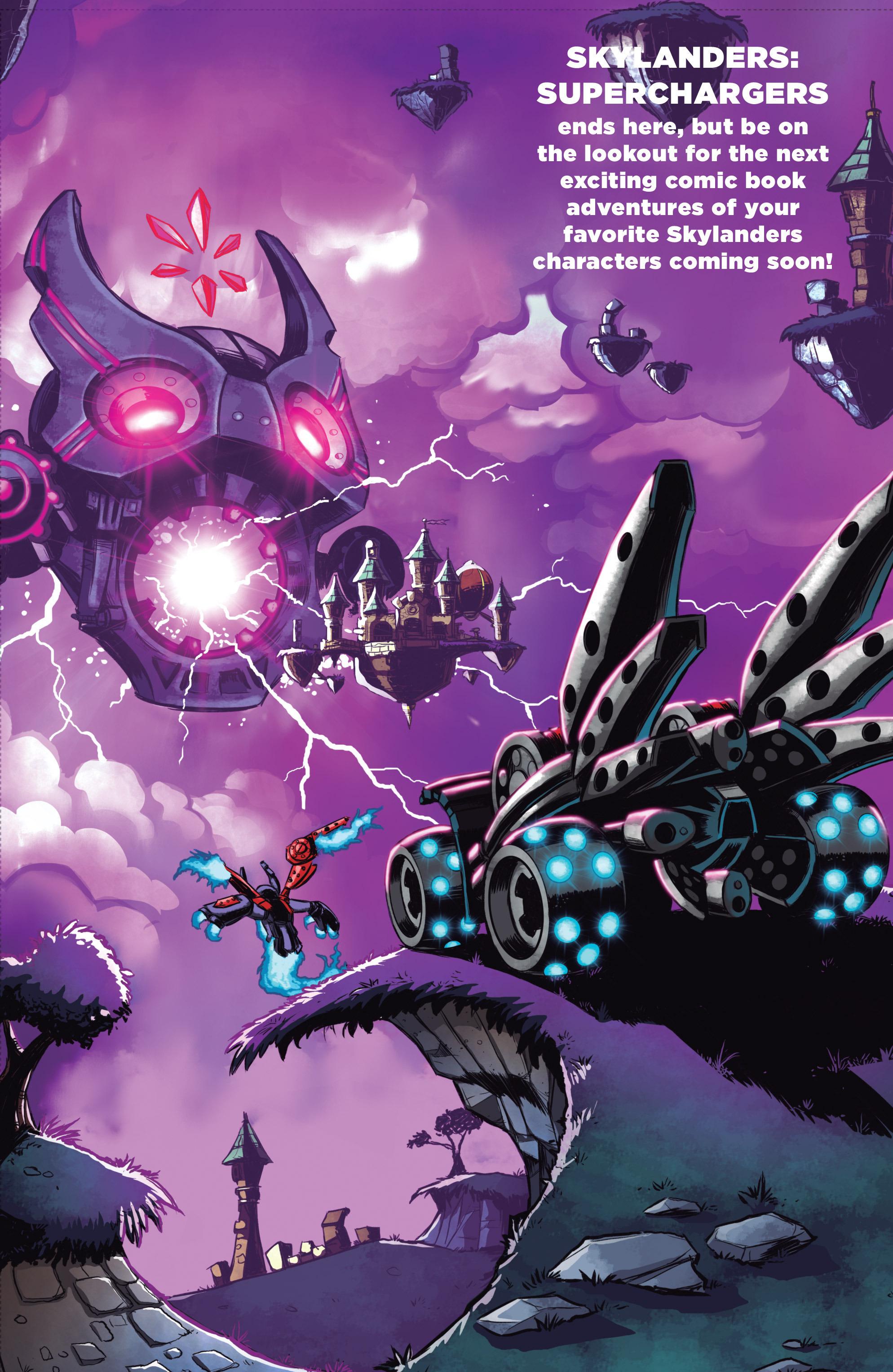 Read online Skylanders Superchargers comic -  Issue #6 - 22