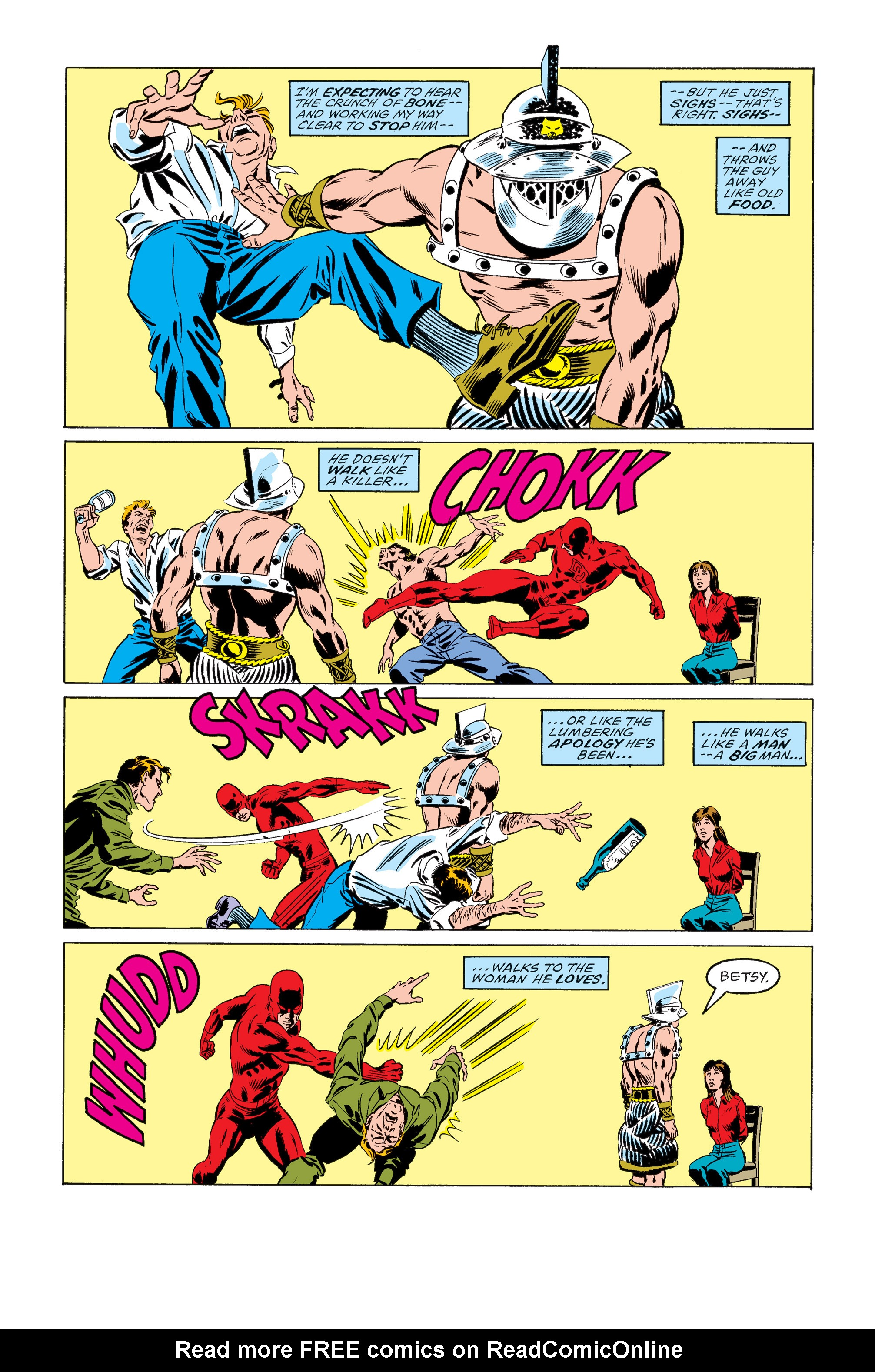 Read online Daredevil: Born Again comic -  Issue # Full - 26