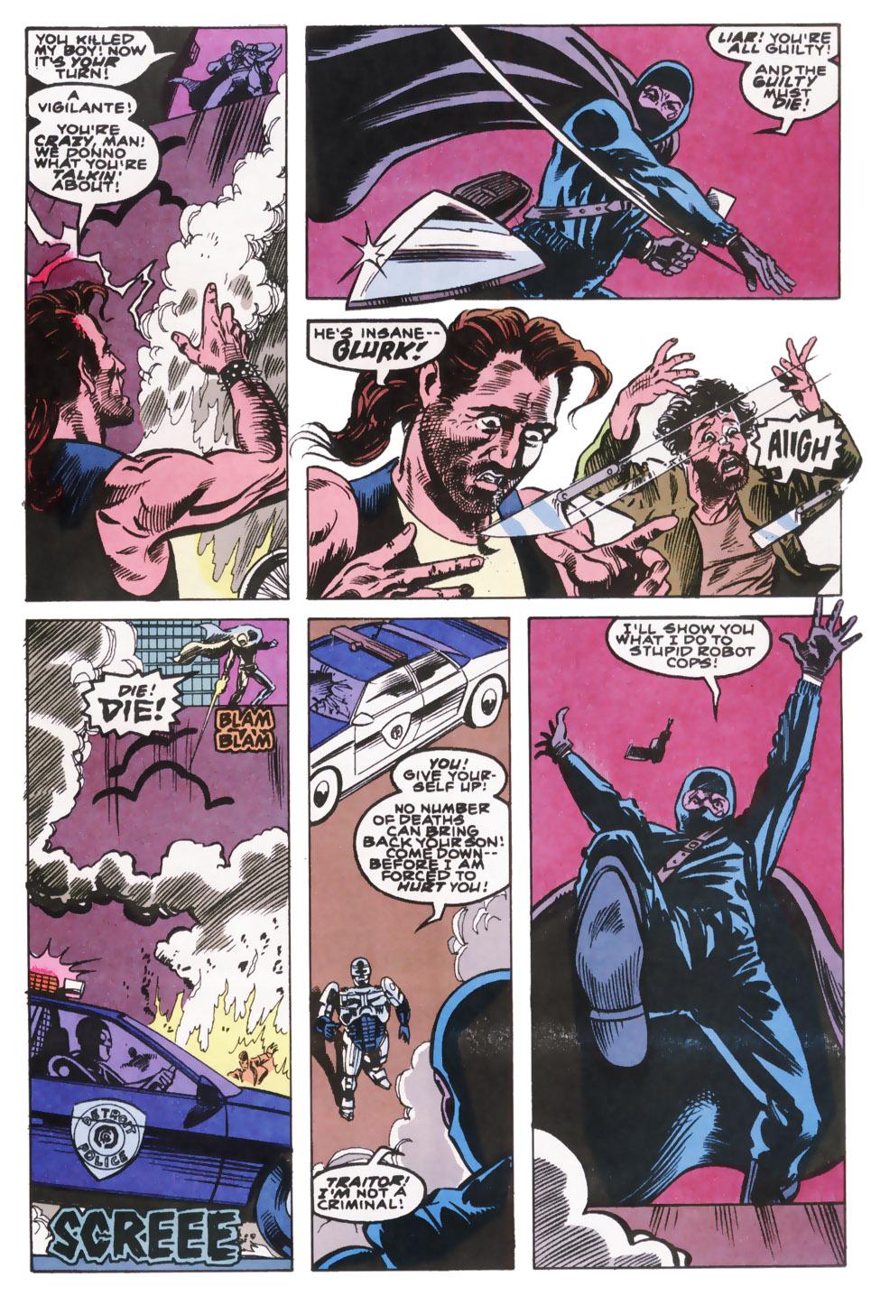 Read online Robocop (1990) comic -  Issue #10 - 10