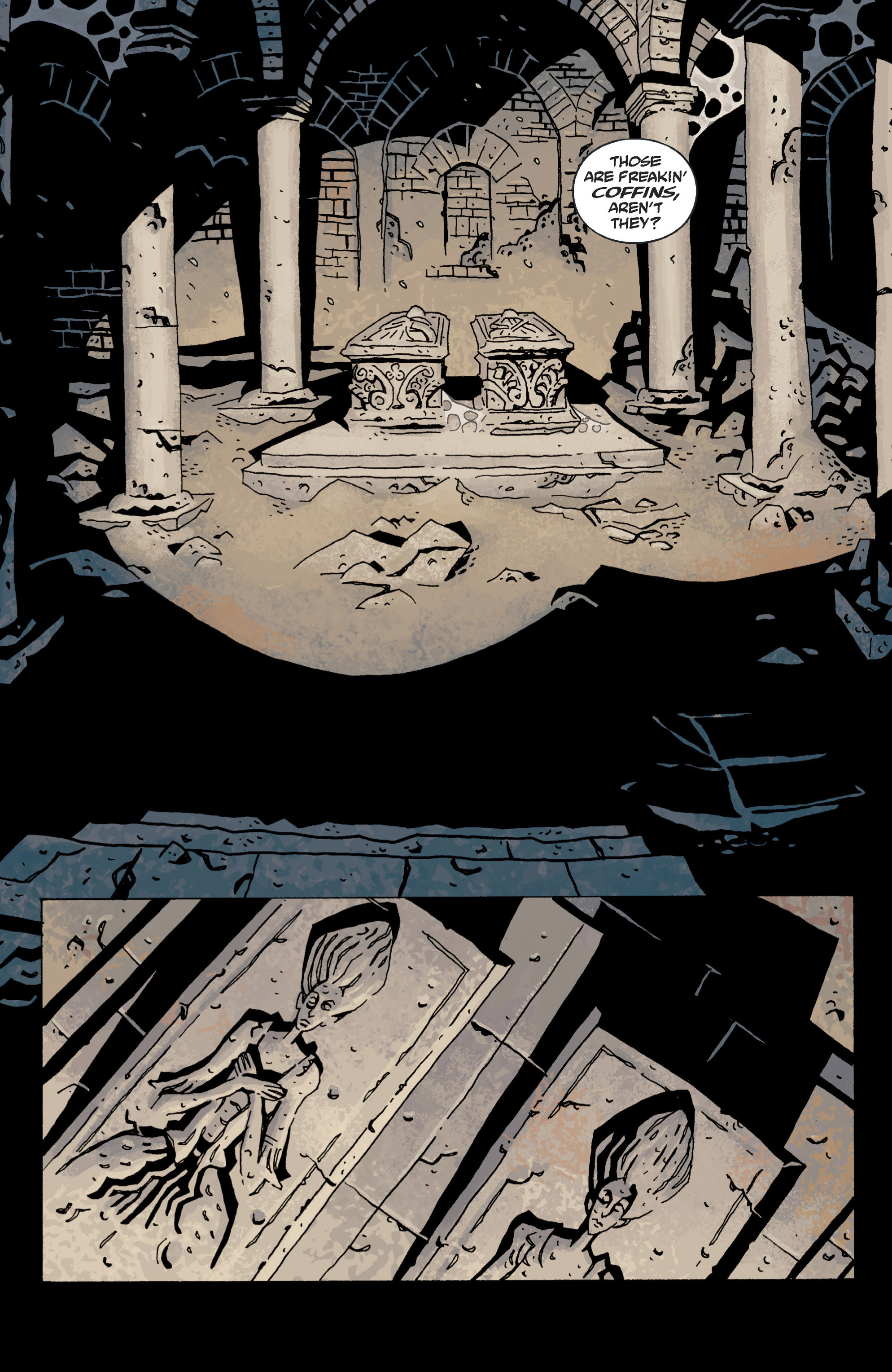 Read online B.P.R.D. (2003) comic -  Issue # TPB 13 - 57