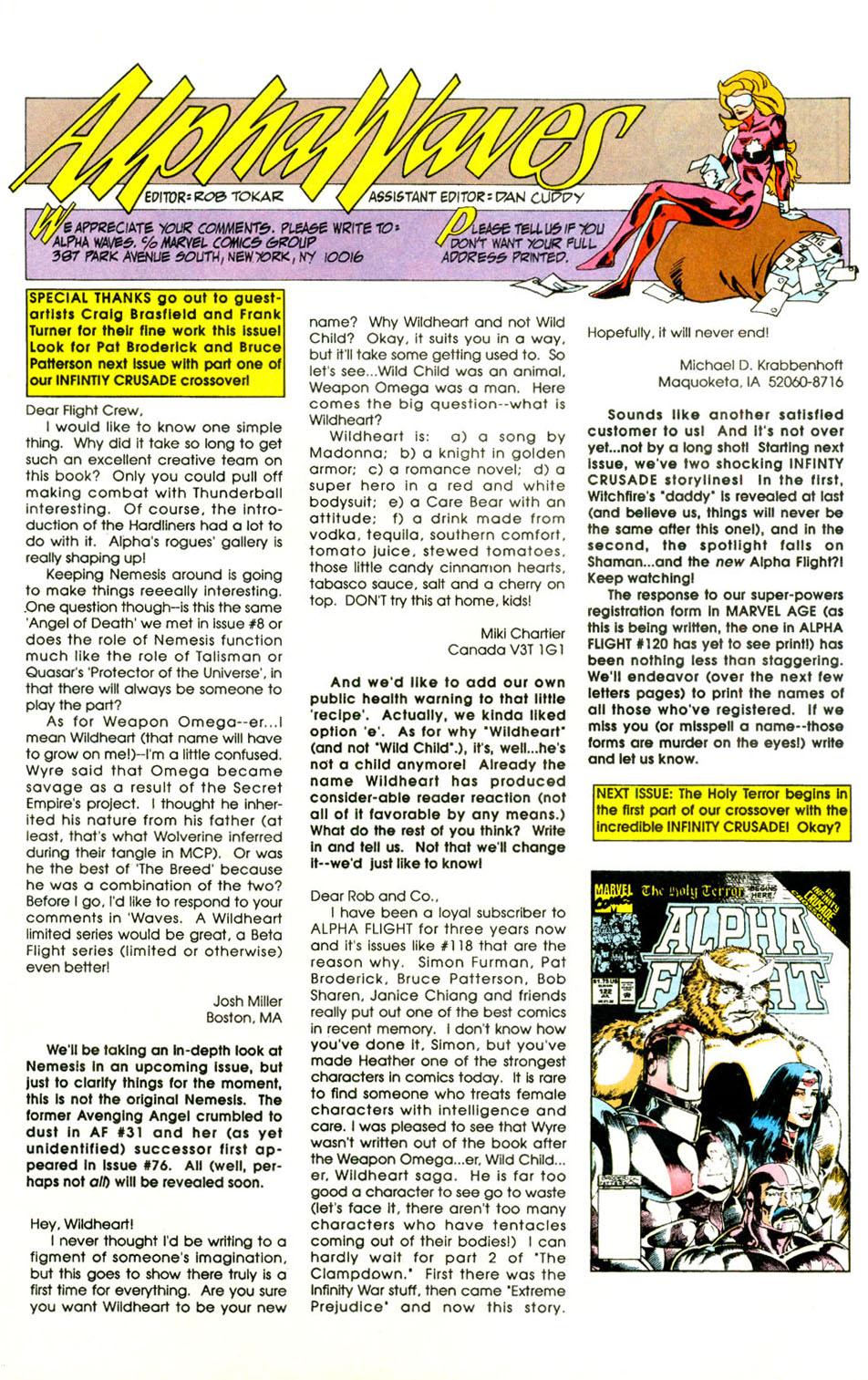 Read online Alpha Flight (1983) comic -  Issue #121 - 24