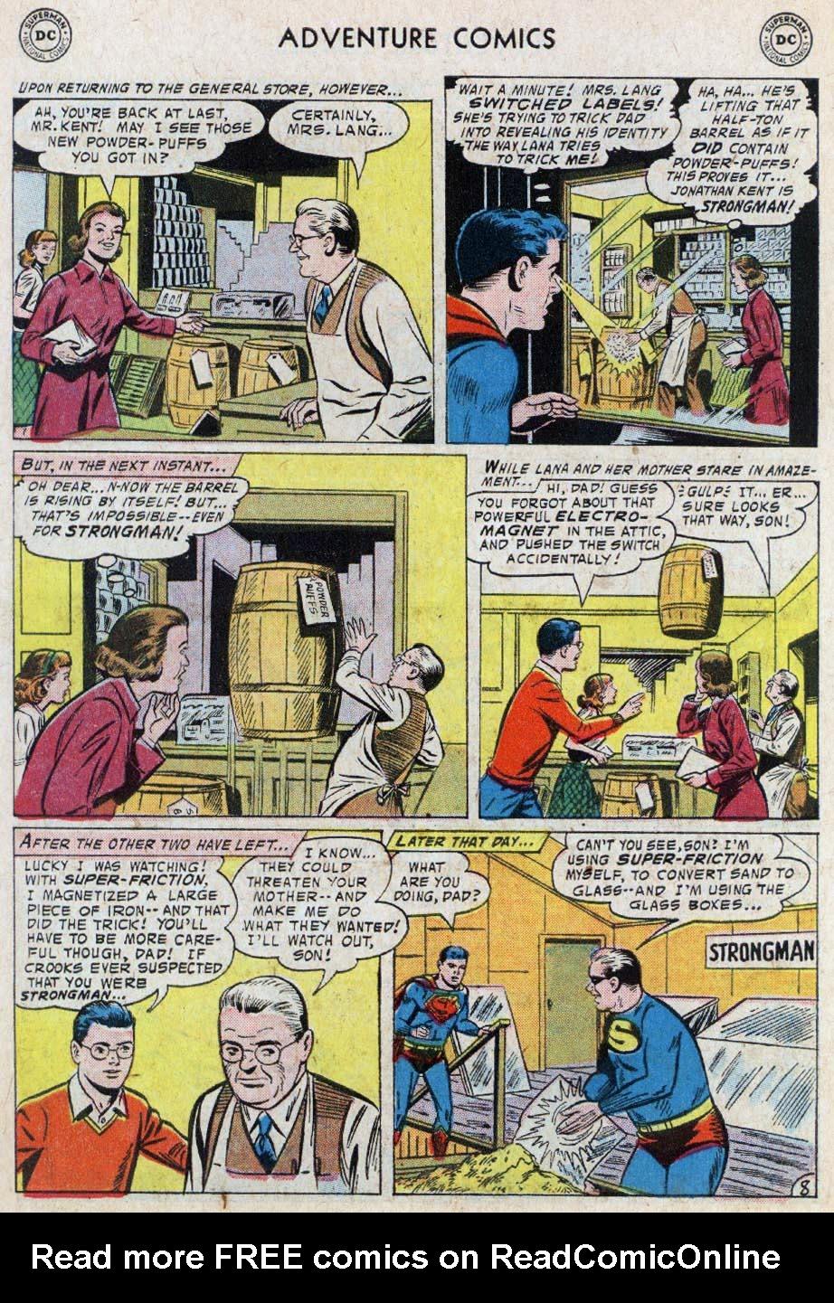 Read online Adventure Comics (1938) comic -  Issue #236 - 10