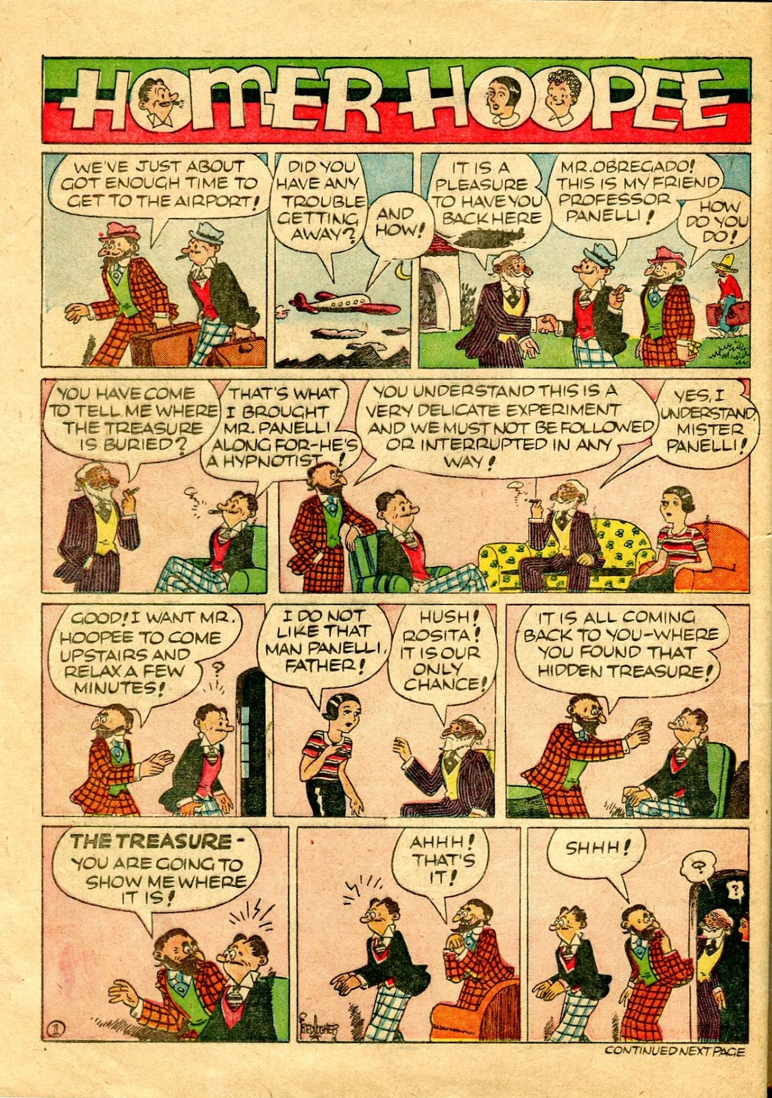 Read online Famous Funnies comic -  Issue #64 - 61