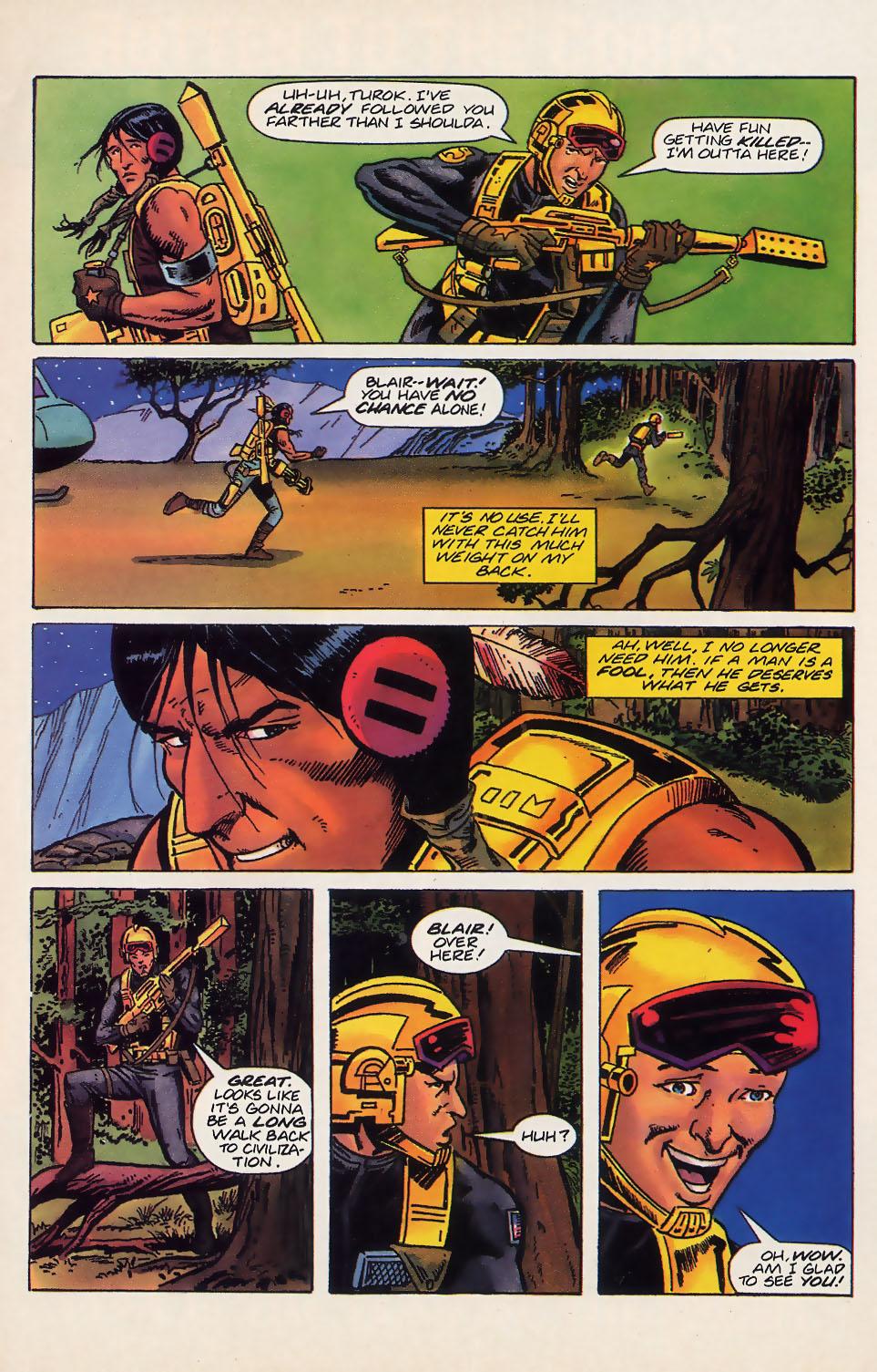 Read online Turok, Dinosaur Hunter (1993) comic -  Issue #18 - 10